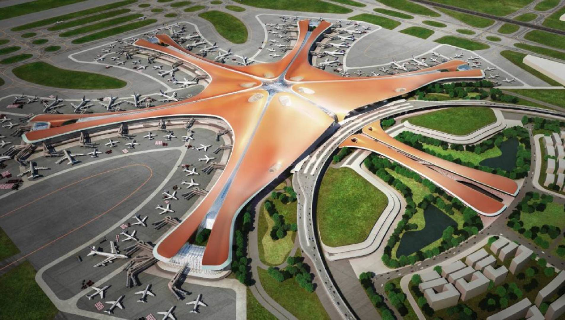 مطار بكين الجديد.. طفرة اقتصادية في سوق الطيران