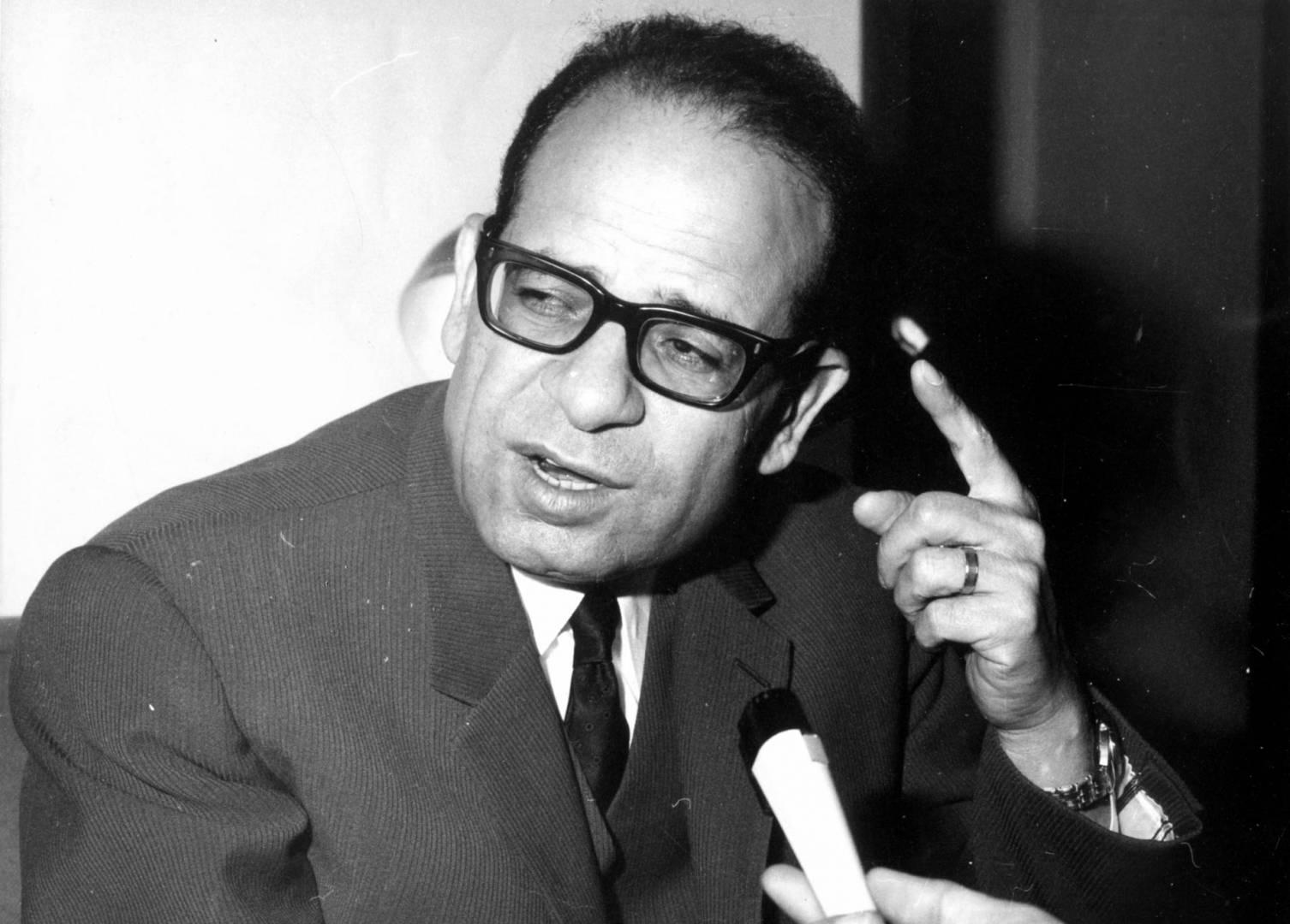 سيد نوفل الأمين العام المساعد الأسبق لجامعة الدول العربية.. صورة أرشيفية
