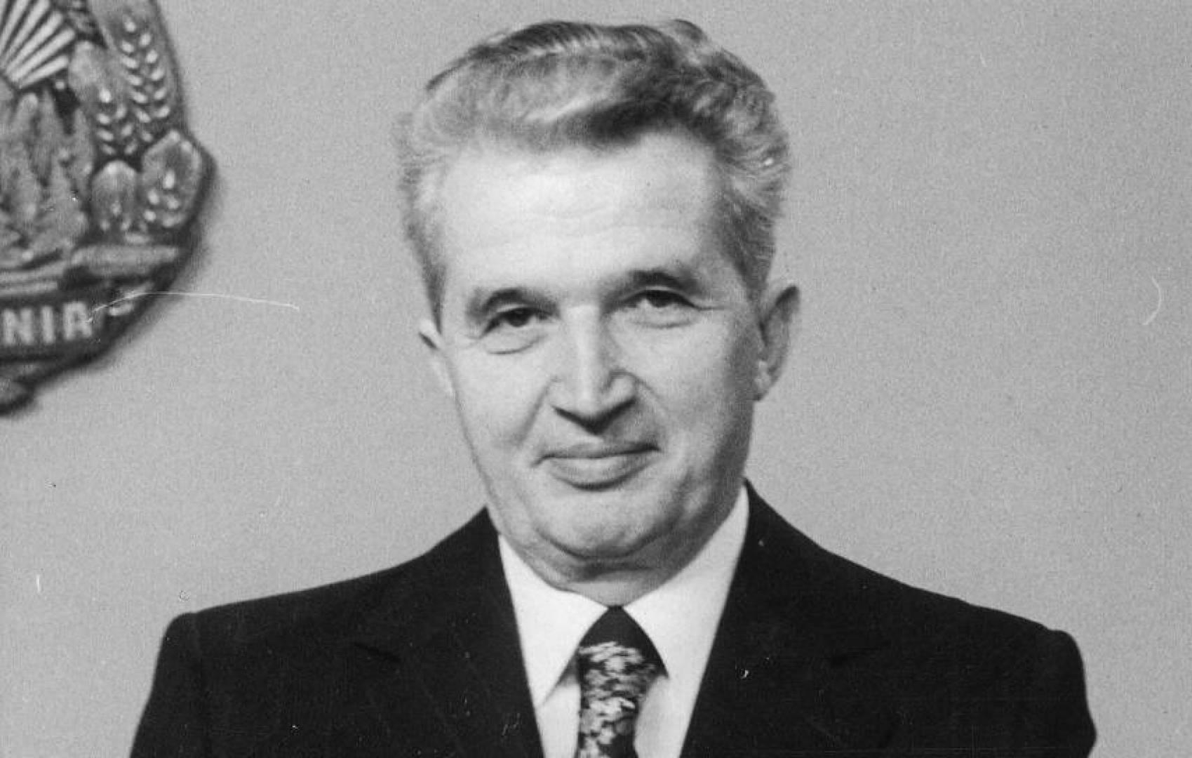 الرئيس الروماني الأسبق نيكولاي شاوشيسكو.. صورة أرشيفية