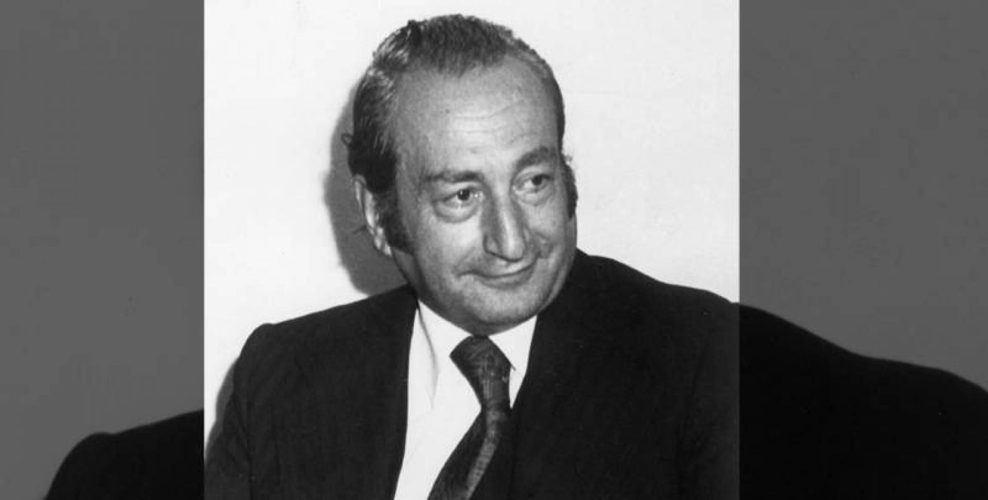 الأديب اللبناني رشدي المعلوف.. صورة أرشيفية
