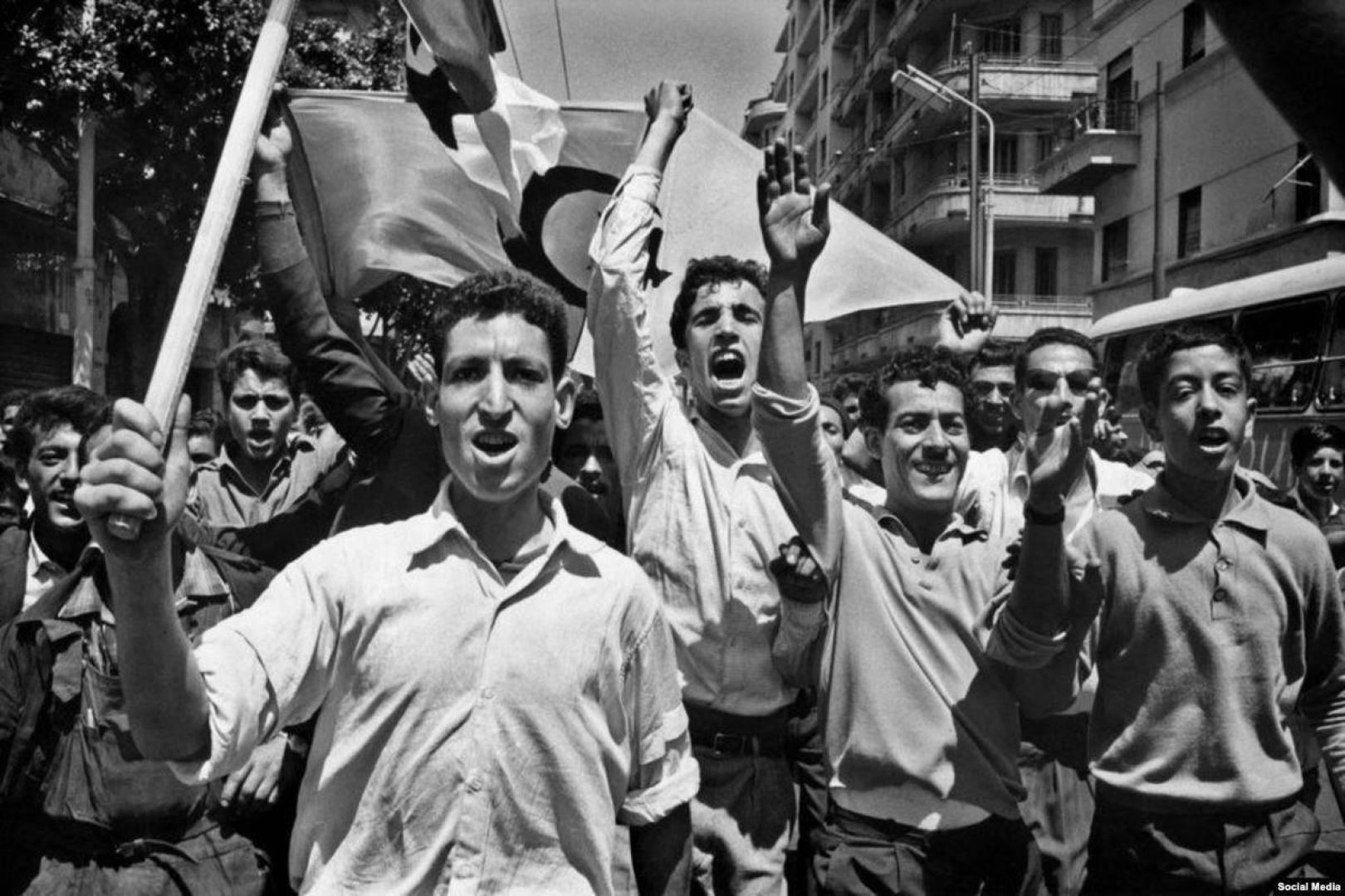 الحراك الجزائري للاستقلال.. صورة أرشيفية