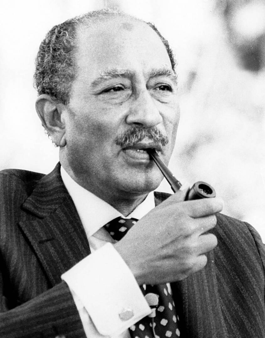 الرئيس المصري محمد أنور السادات.. صورة أرشيفية