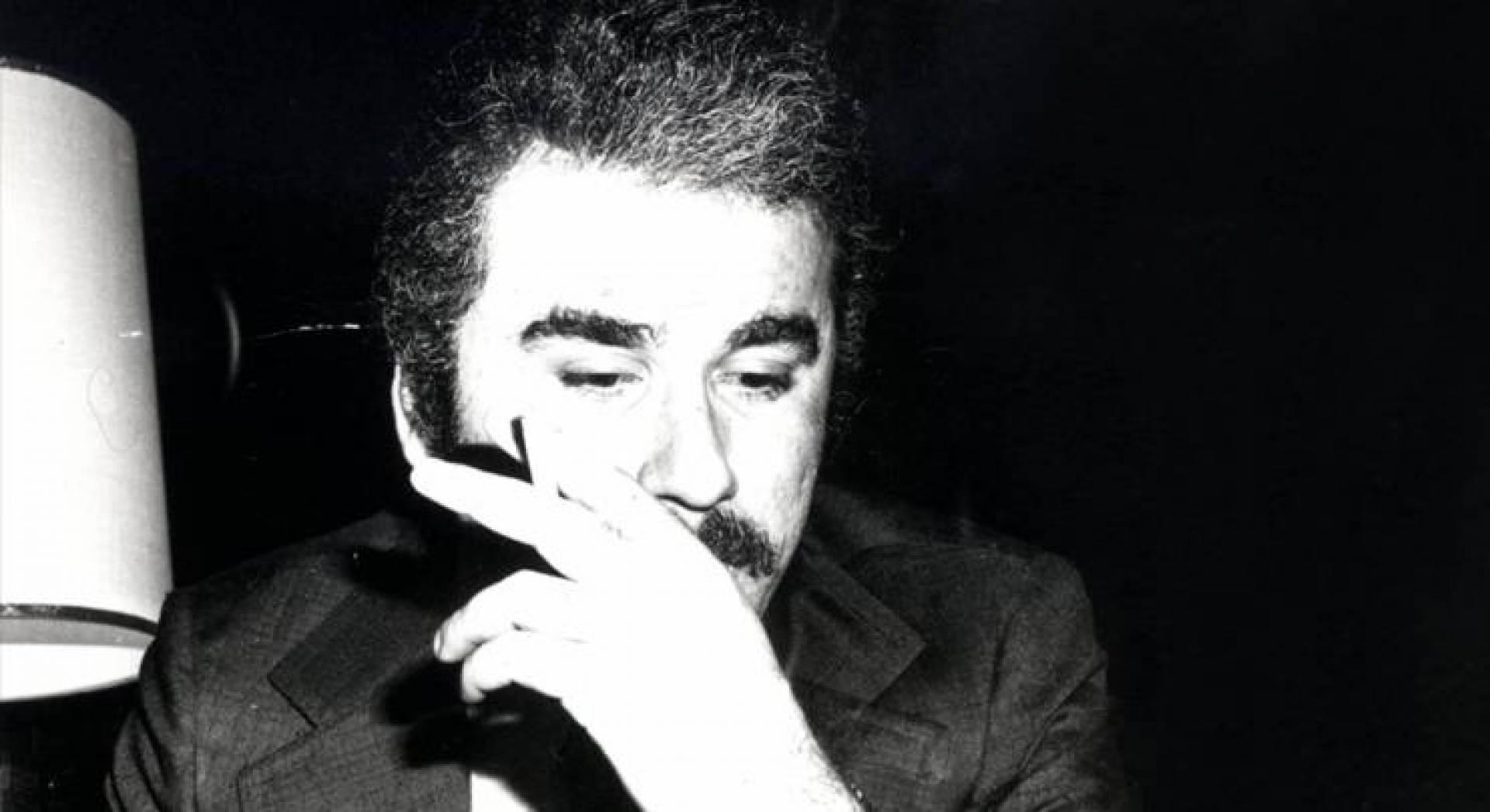 بيار صادق رسام جريدة النهار الكاريكاتيري.. صورة أرشيفية