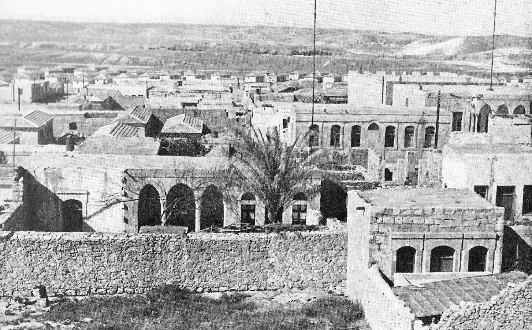 بئر السبع الفلسطينية.. أرشيفية
