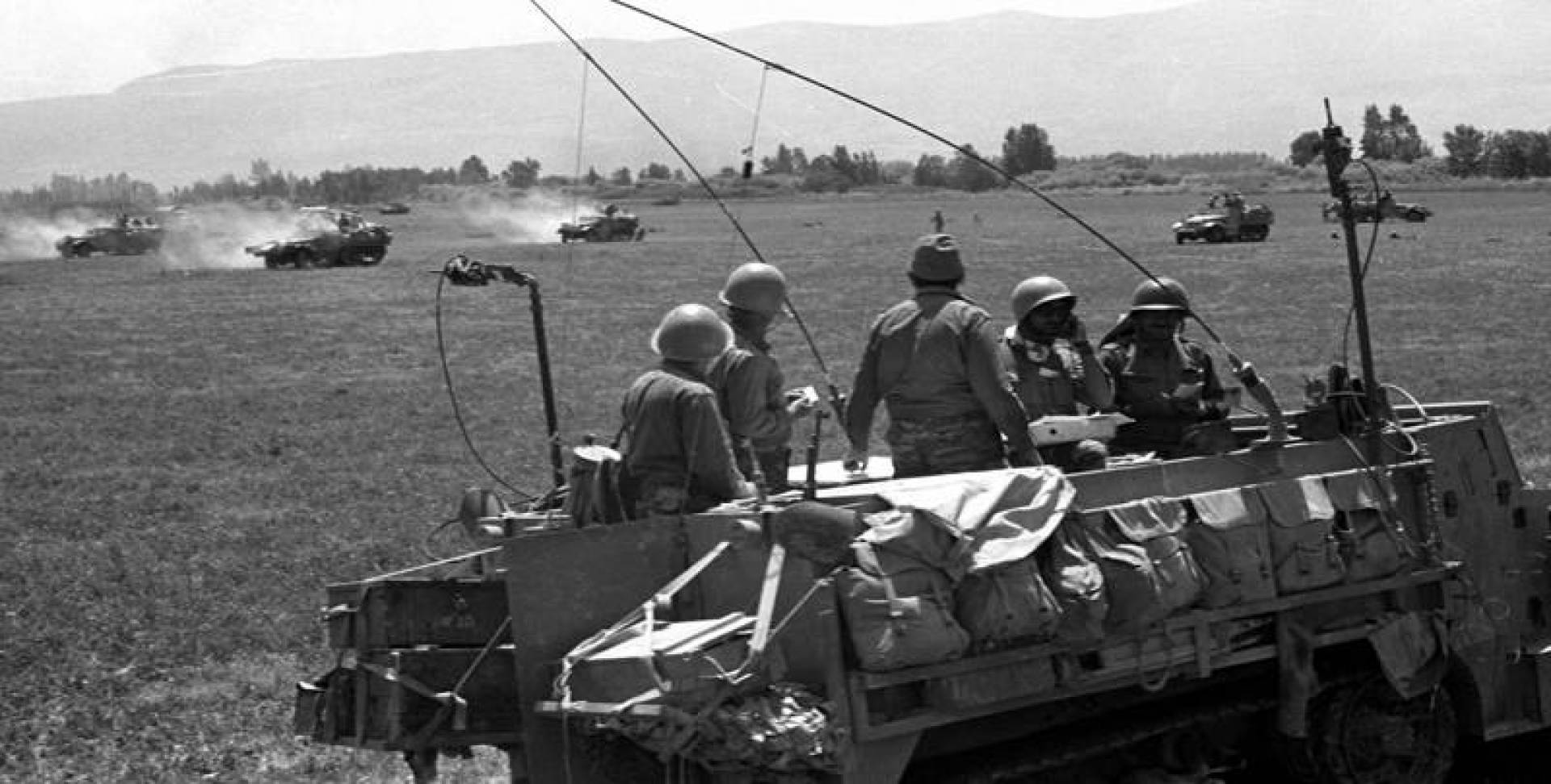 عربات حربية إسرائيلية.. صورة أرشيفية