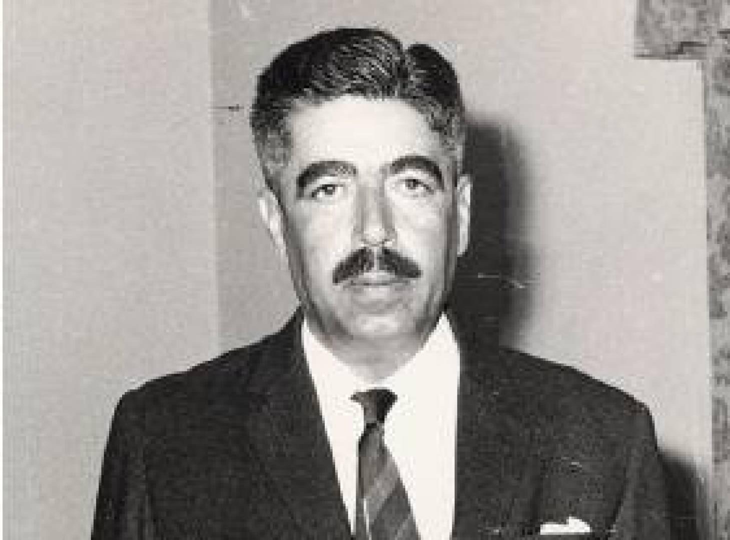 رئيس وزراء الأردن وصفي التل.. أرشيفية
