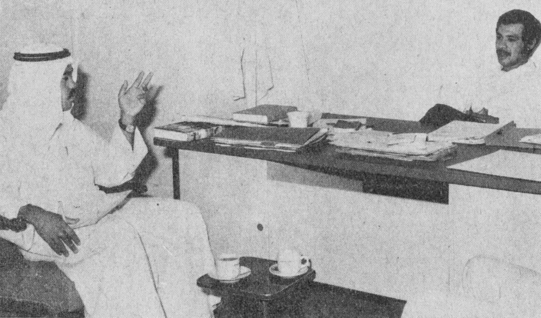الدكتور العبد الرزاق يتحدث لـ«القبس».. صورة أرشيفية
