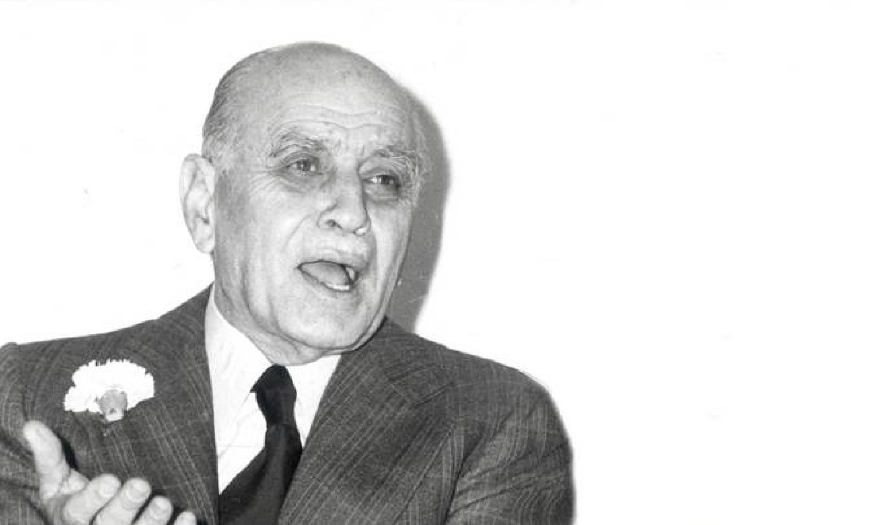 صائب سلام رئيس وزراء لبنان.. صورة أرشيفية