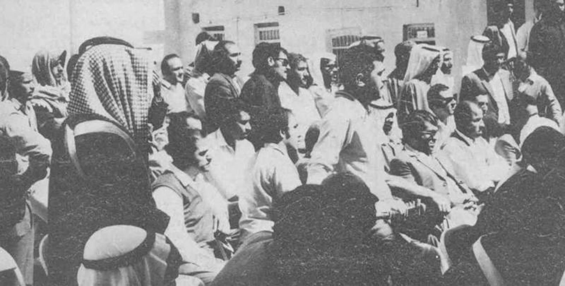 إضراب عمال شركة «الأمينول».. صورة أرشيفية