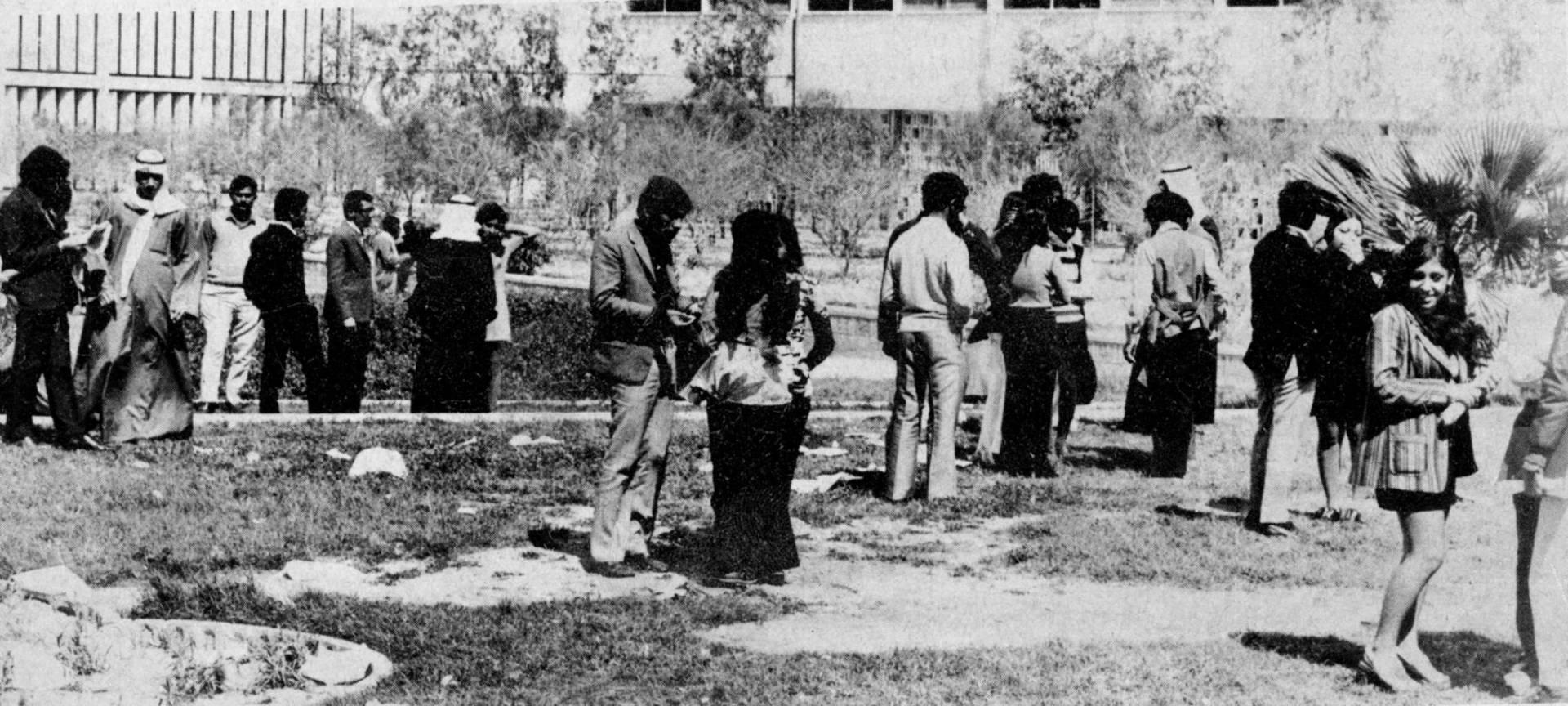 إضراب طلبة جامعة الكويت.. صورة أرشيفية