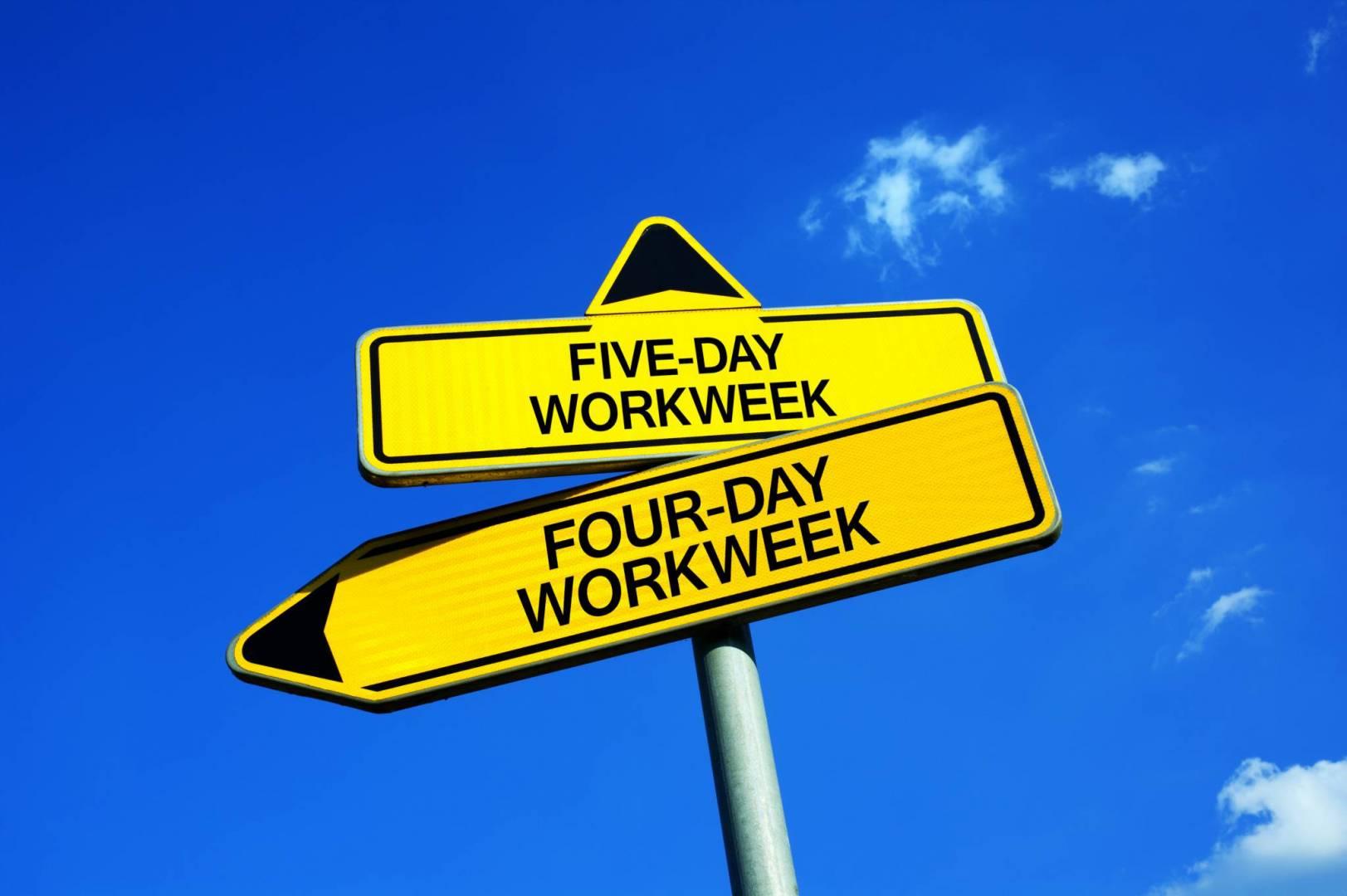 العمل 4 أيام في الأسبوع