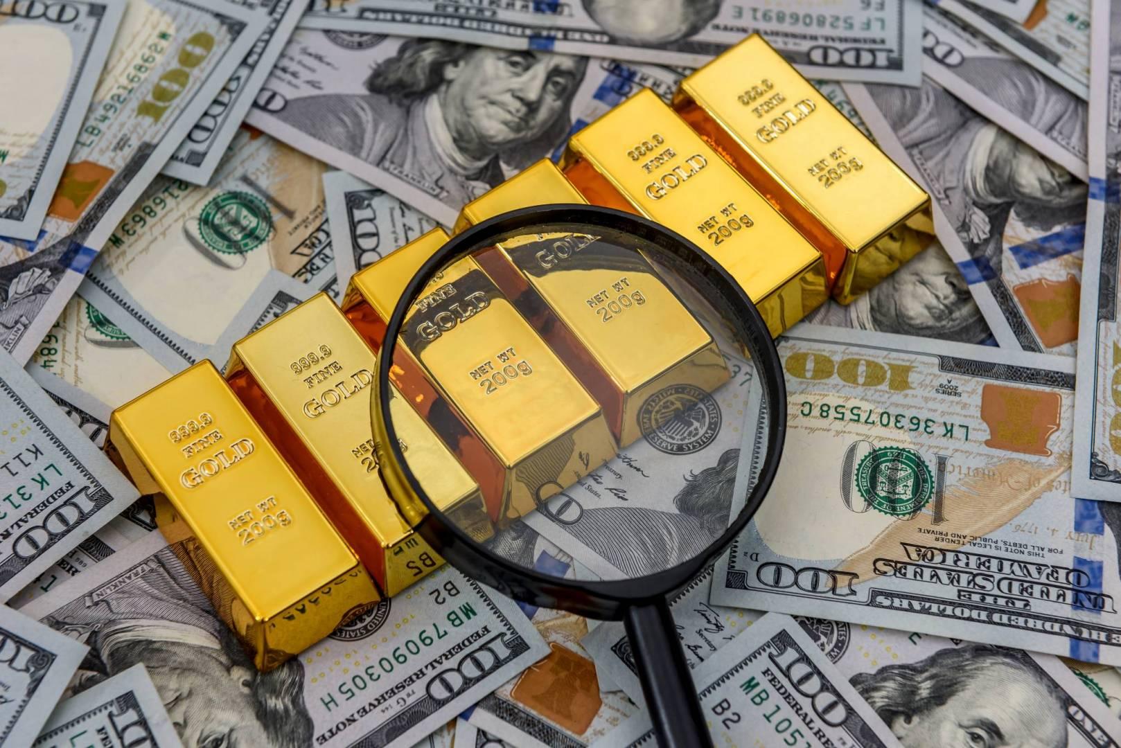 المعدن الأصفر.. قد يرتفع إلى 1900 دولار مجدداً