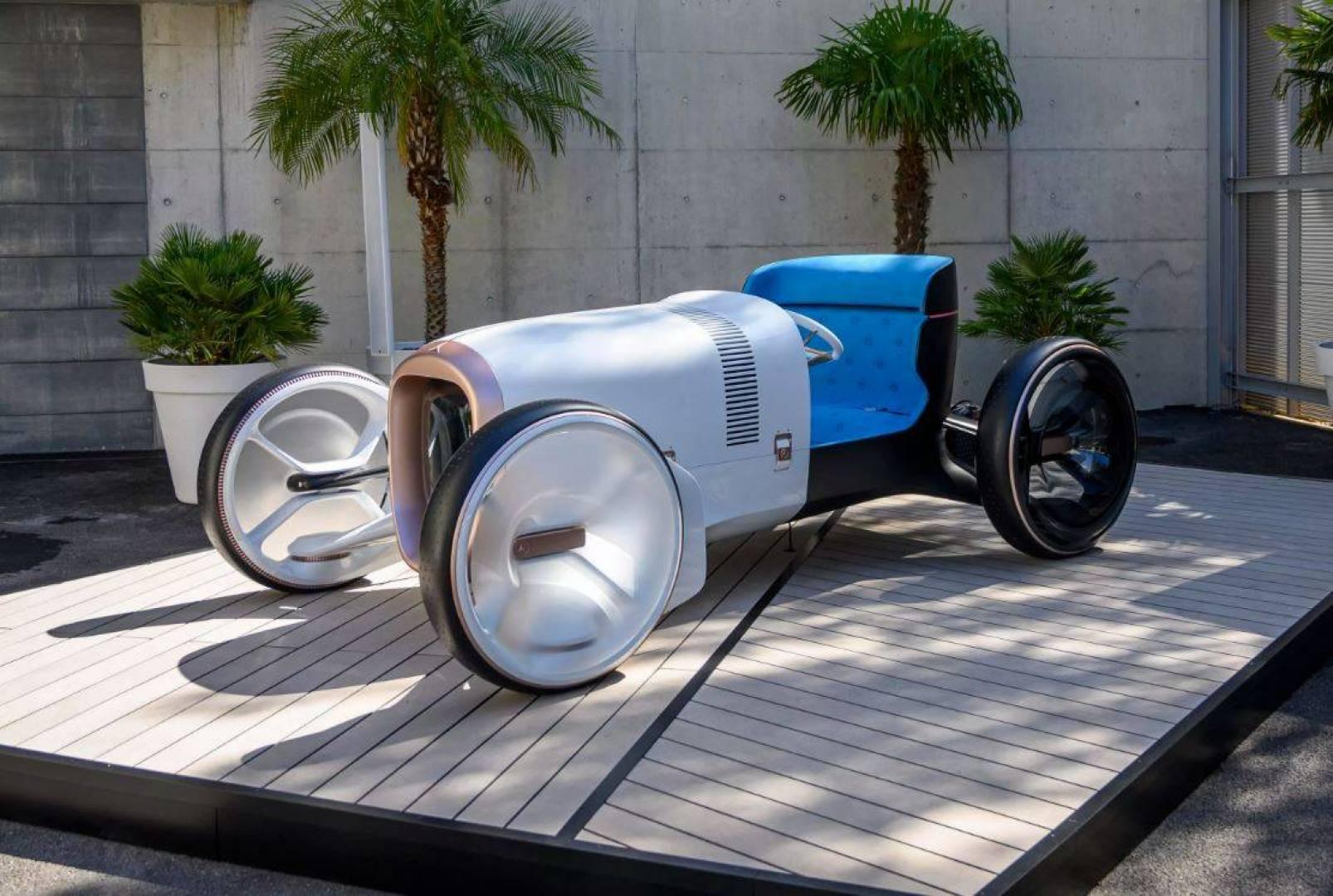 «سيمبلكس».. تصميم جديد مبتكر لسيارة «مرسيدس بنز»