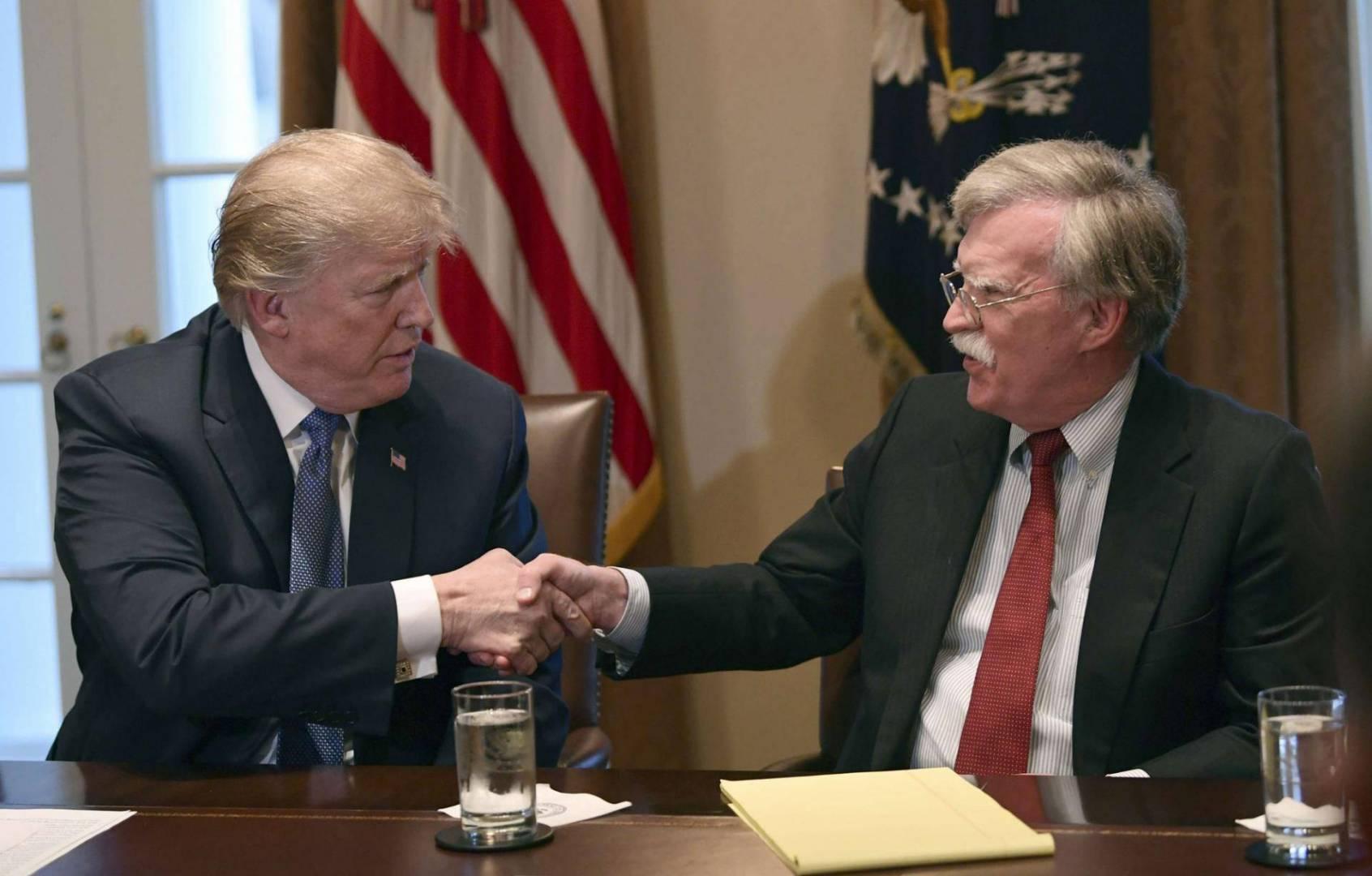 ترامب: التفاهم كان مفقوداً بين بولتون وأبرز موظفي إدارة البيت الأبيض