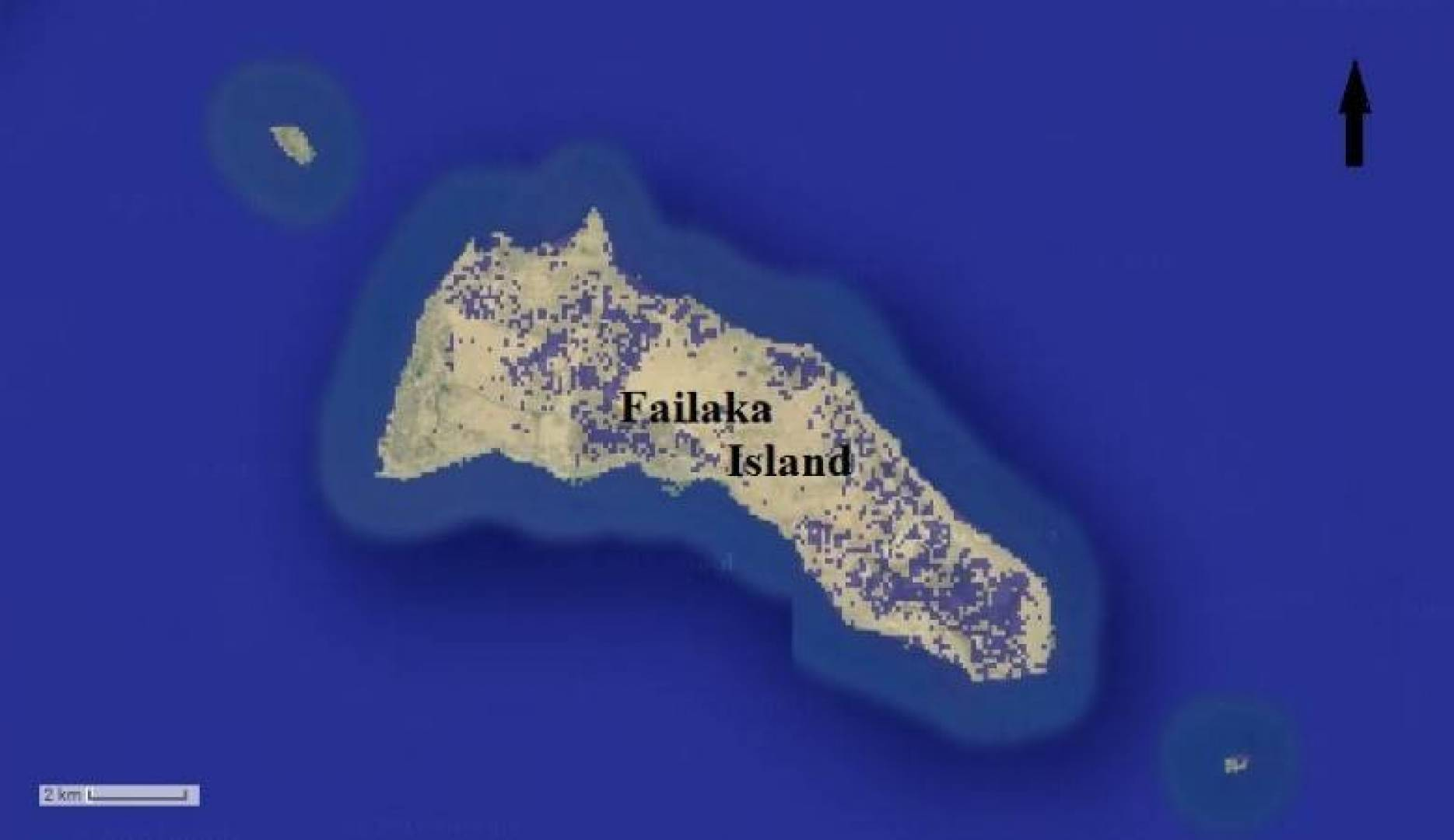 4 جزر كويتية معرضة للغرق بسبب التغييرات المناخية