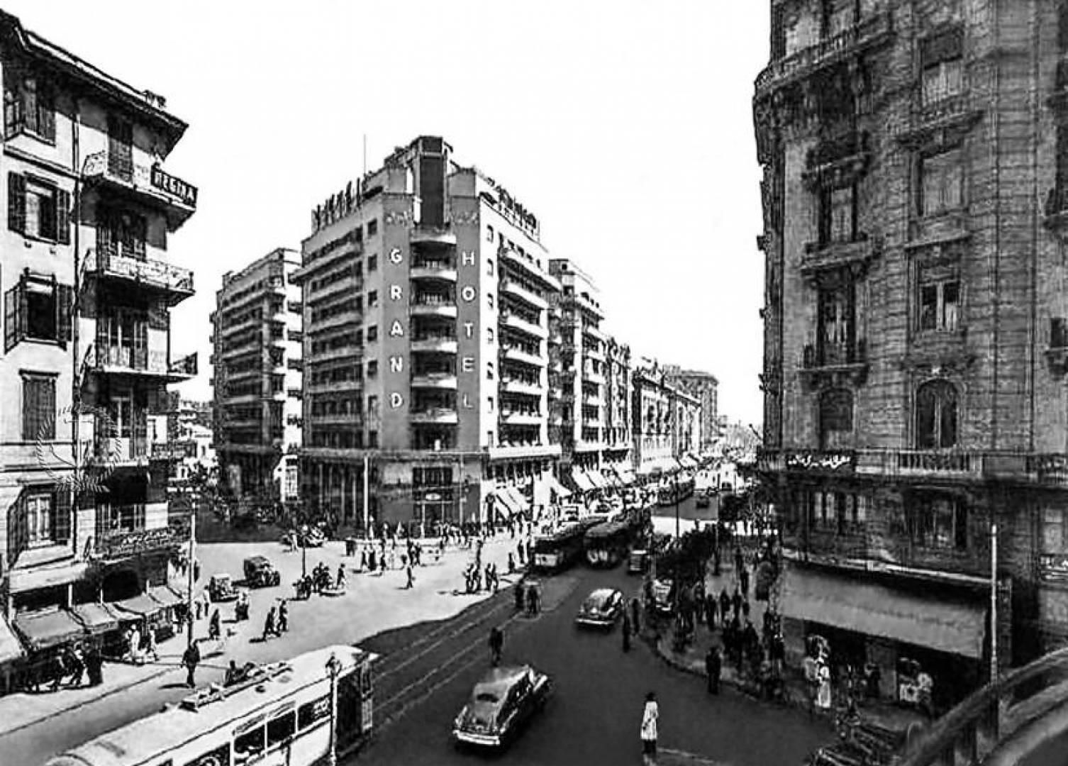فندق جراند بشارع فؤاد في القاهرة.. صورة أرشيفية