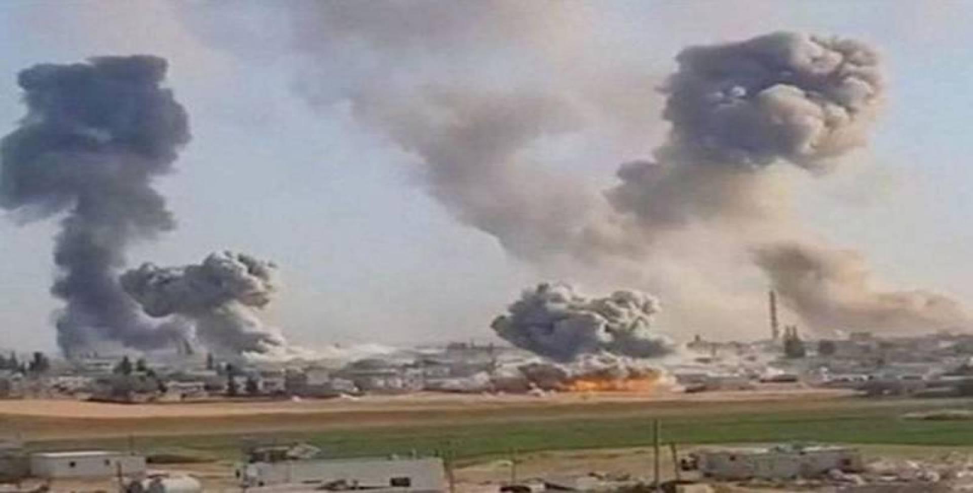 16 قتيلاً موالياً لإيران بغارات على البوكمال