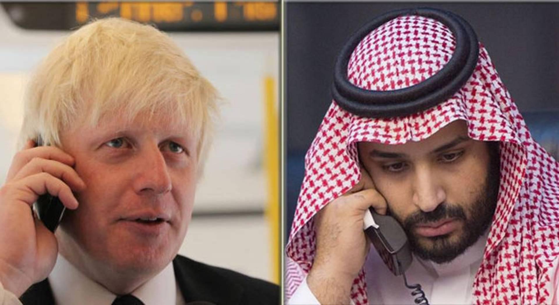 جونسون: ملتزمون بأمن السعودية