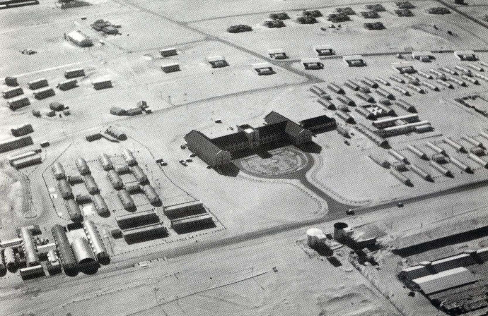 منظر جوي لمبنى شركة نفط الكويت.. أرشيفية
