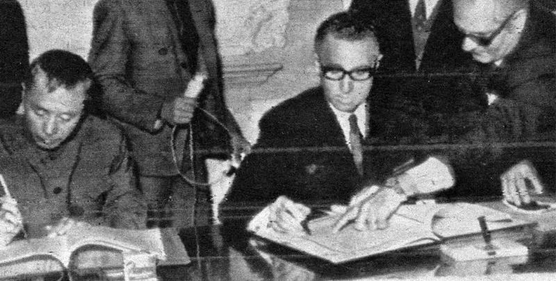 1972| اتفاقية تجارية بين مصر والصين