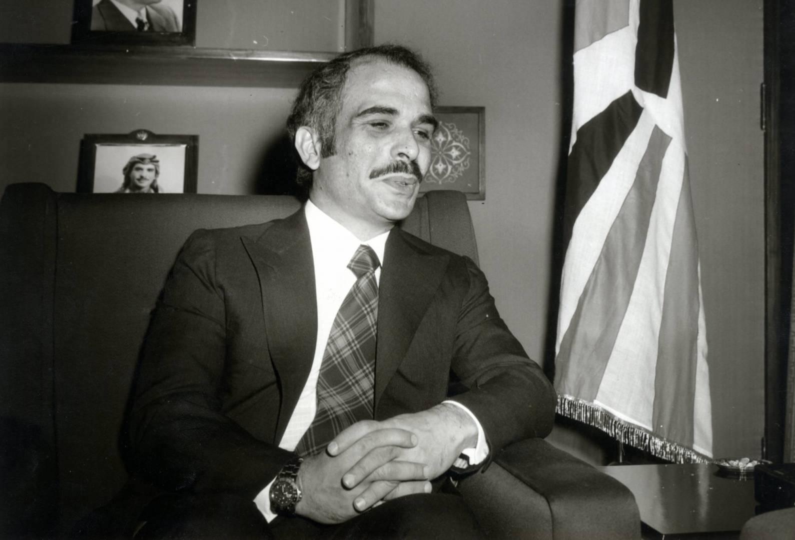 الملك حسين بن طلال.. صورة أرشيفية