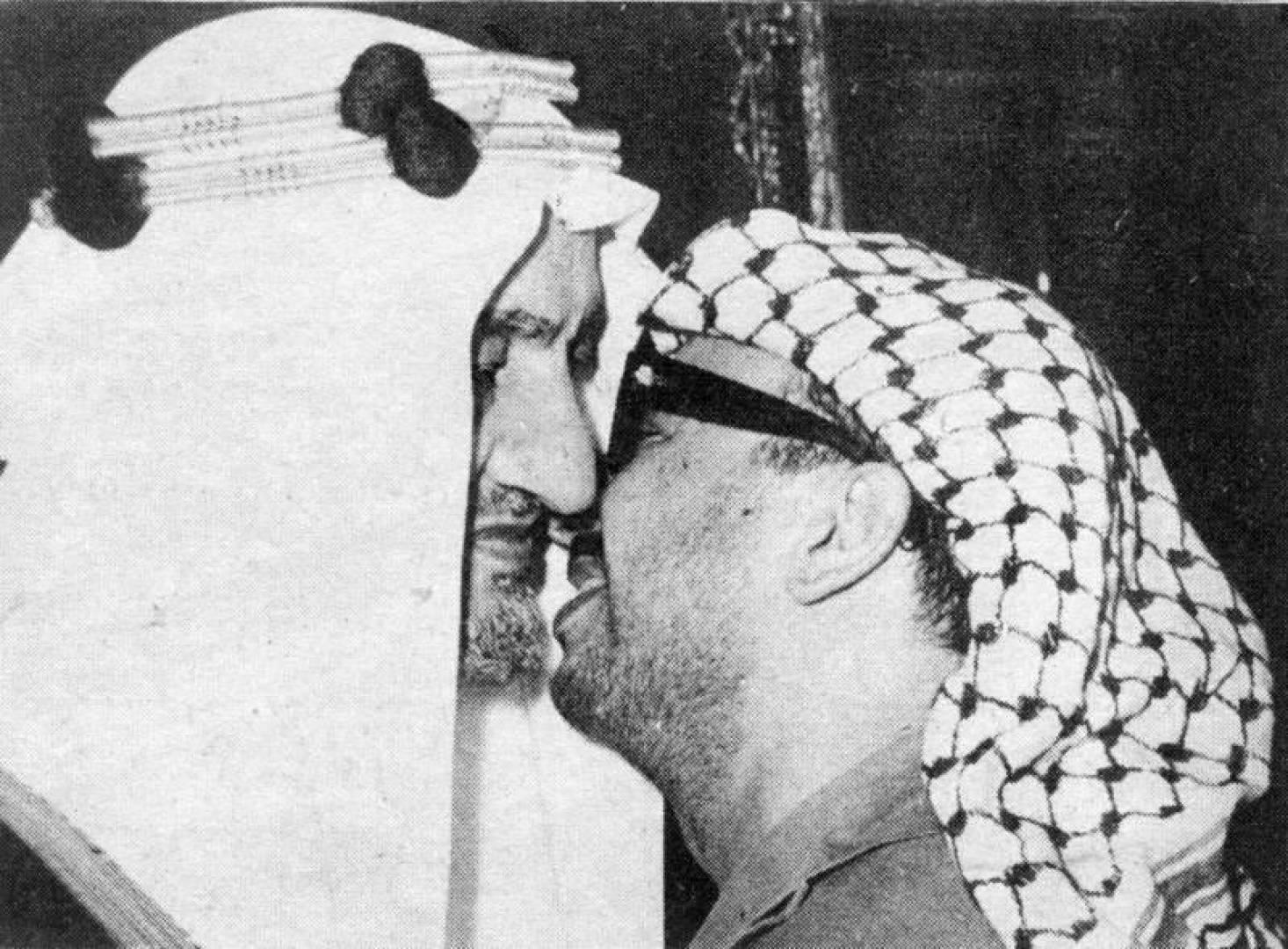 1972  عرفات يجتمع بالملك فيصل