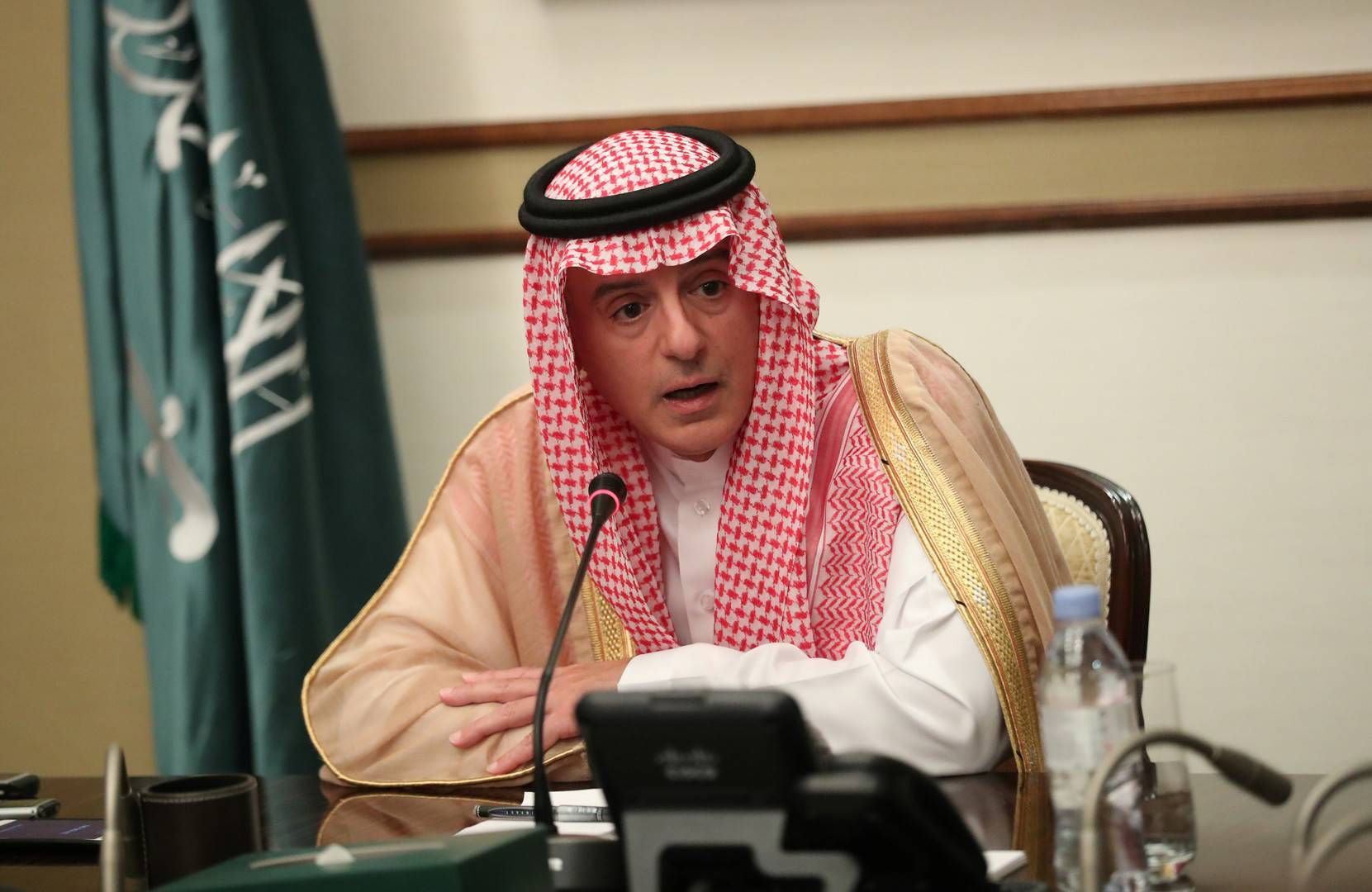 الجيير: إيران تشن حربا على السعودية منذ ثورة الخميني