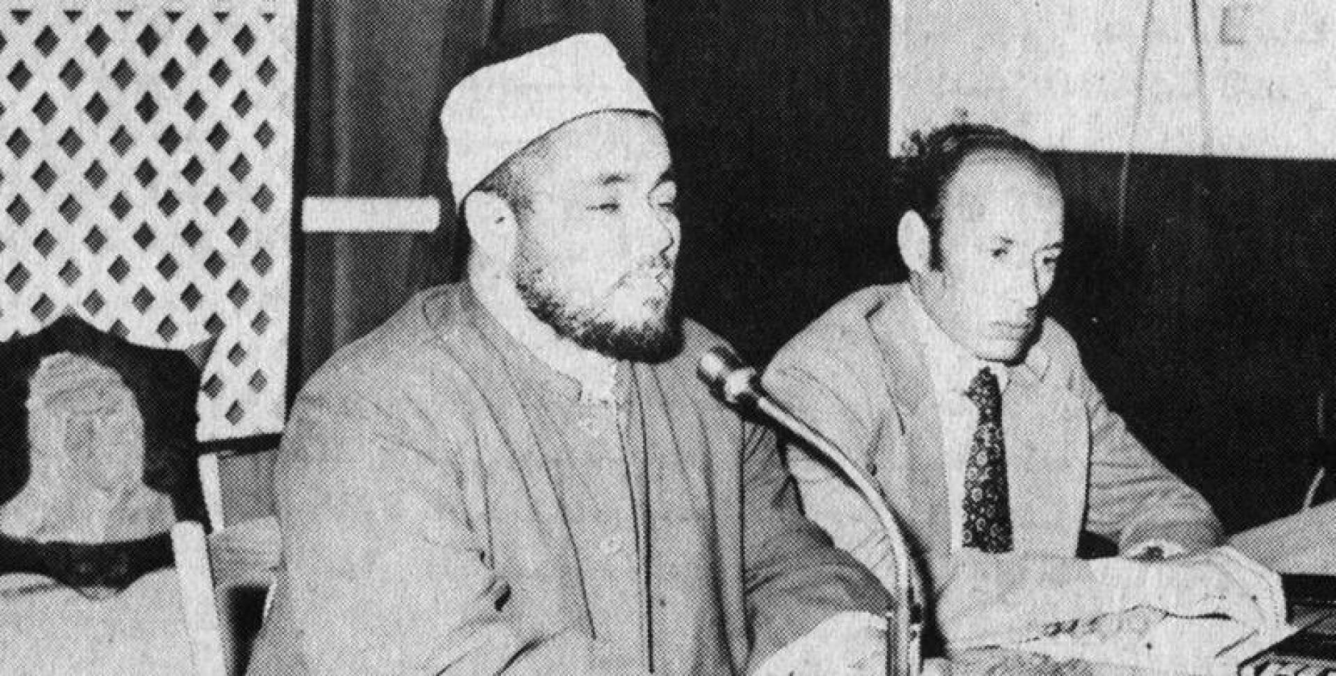 سعد المرصفي الواعظ بوزارة العدل والأوقاف والشؤون الإسلامية.. أرشيفية