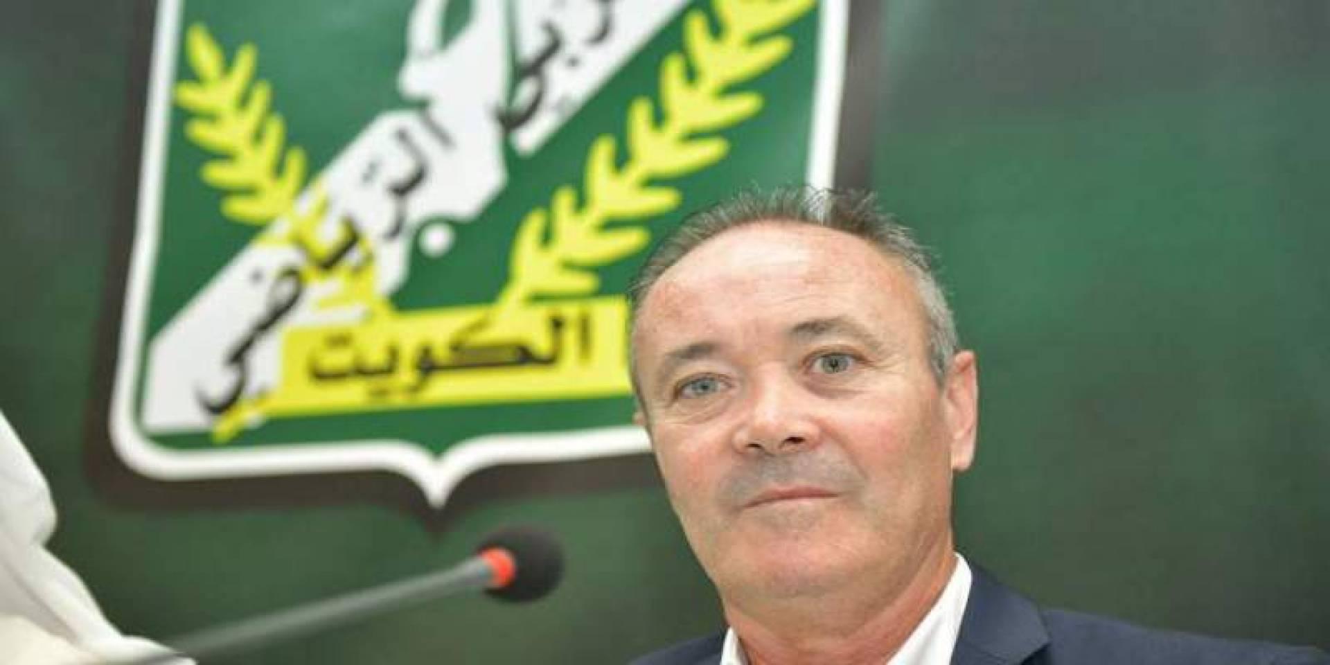 مصير مارتينيز على طاولة إدارة «العربي»