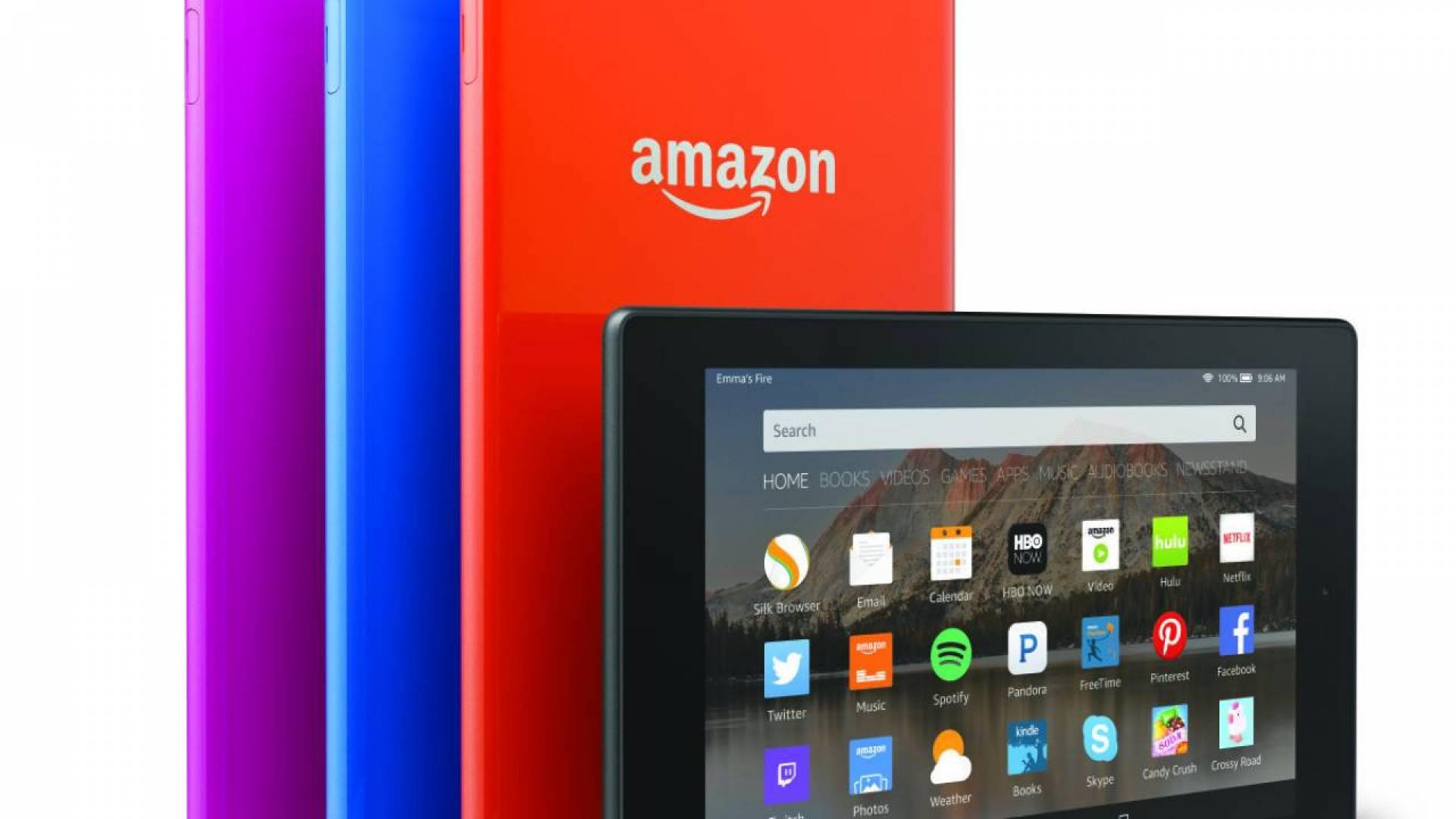 Amazon تنافس «آبل» بجهاز لوحي جديد.. بنصف سعر الـ «iPad»