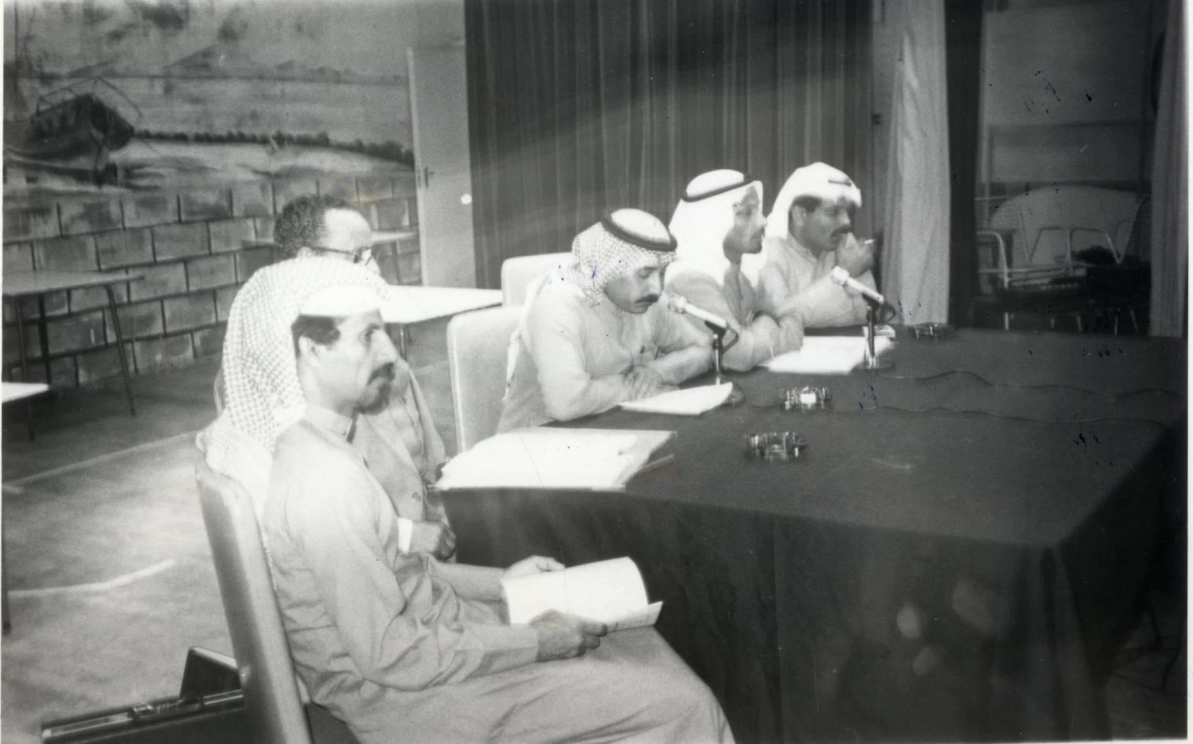 نقابة نفط الكويت جانب من إحتماع الهيئة الإدارية السنوي.. صورة أرشيفية