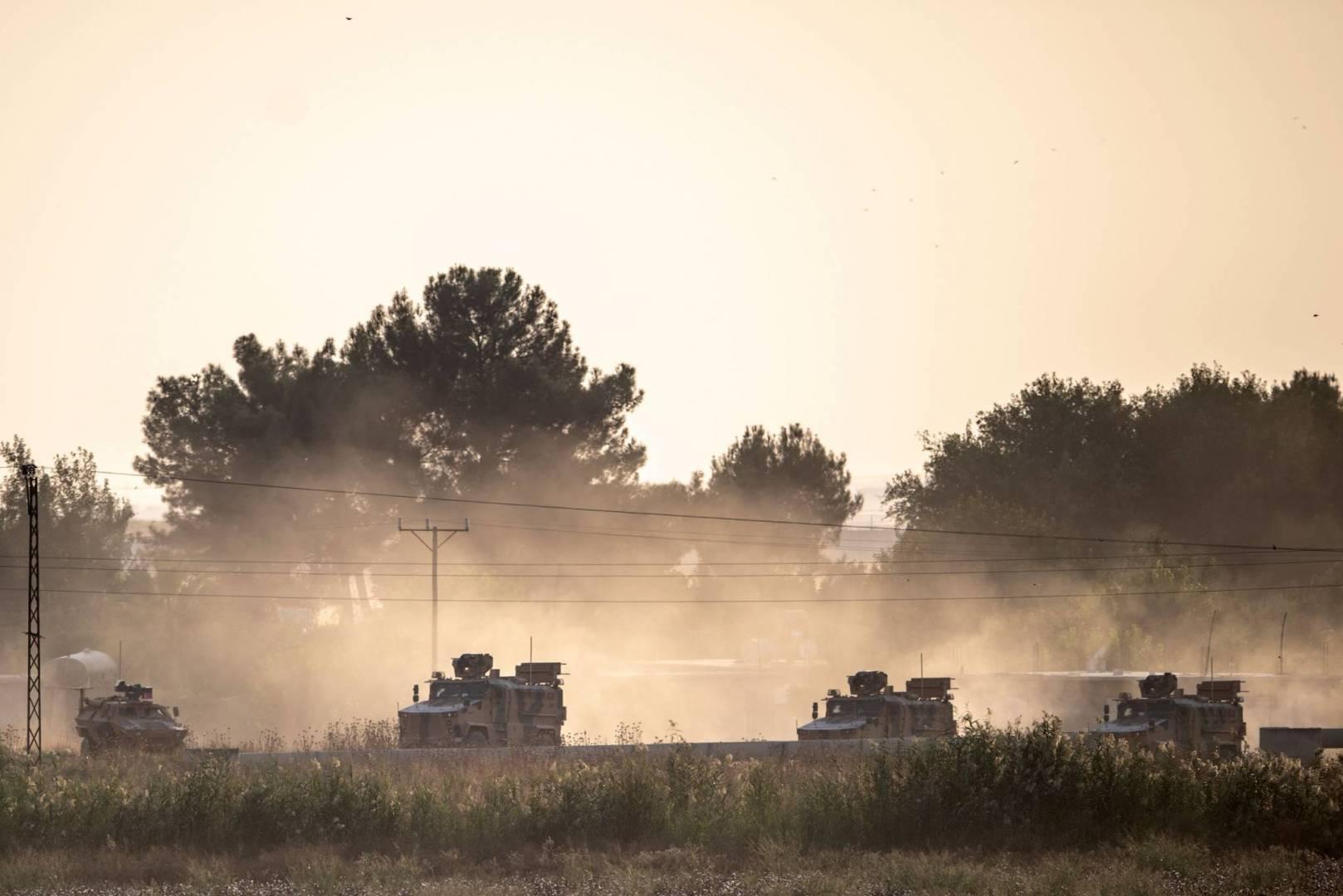 الإمارات والبحرين ومصر والعراق يدينون العملية العسكرية التركية على سوريا