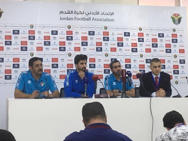 مدرب المنتخب الكويتي: مباراة الأردن مهمة ونطمح للعودة لجادة الانتصارات