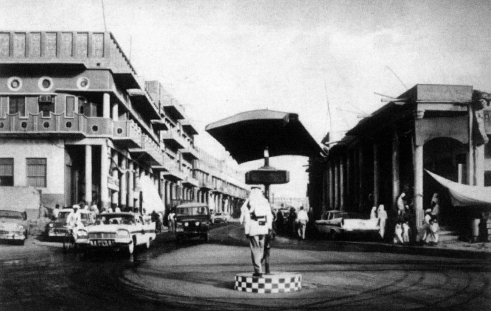 شوارع الكويت في السبعينات.. صورة أرشيفية