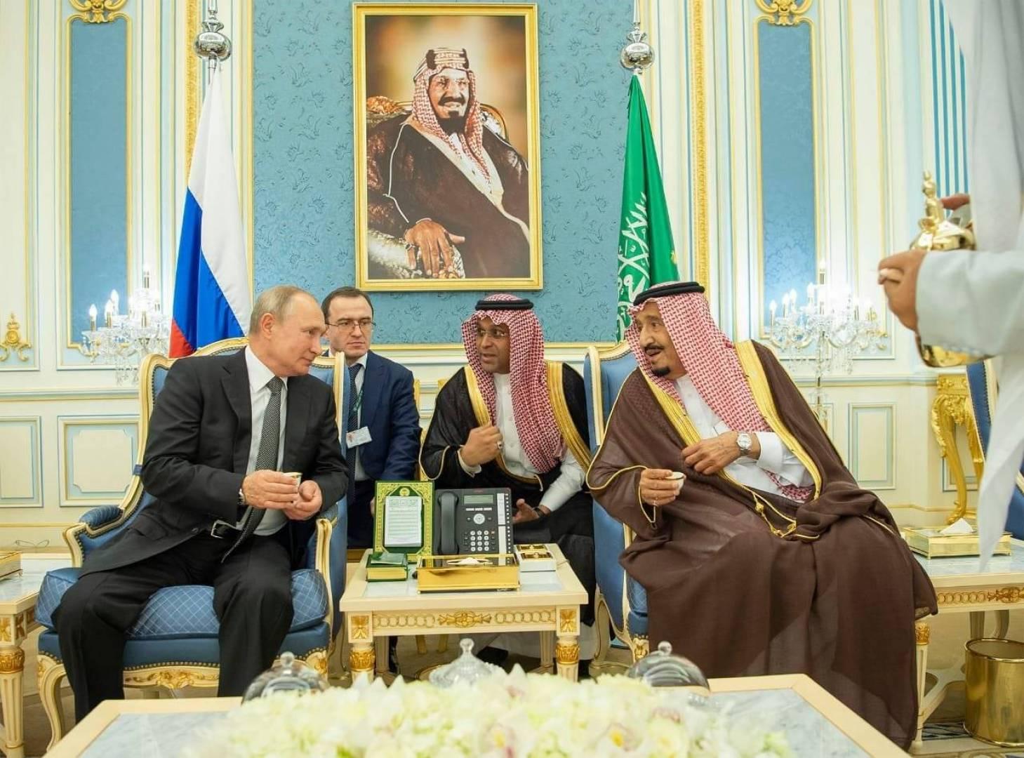 زيارة «تاريخية» لبوتين إلى السعودية