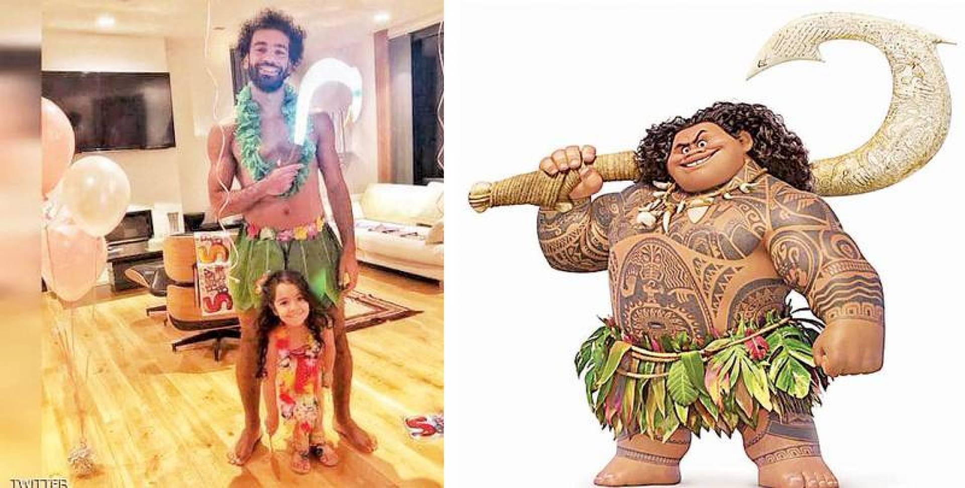 ماوي - صلاح «الماوي» مع ابنته