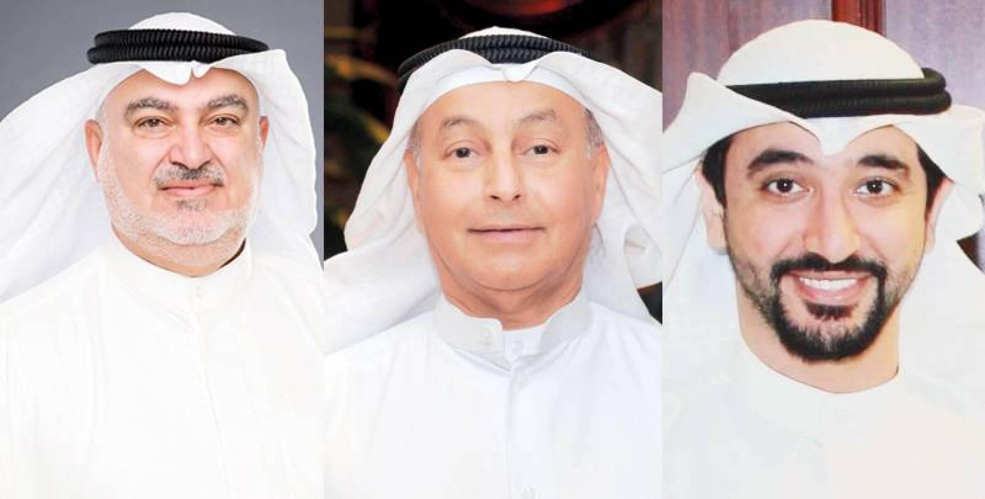 صقر الملا - حسين المسلم - خليل الصالح