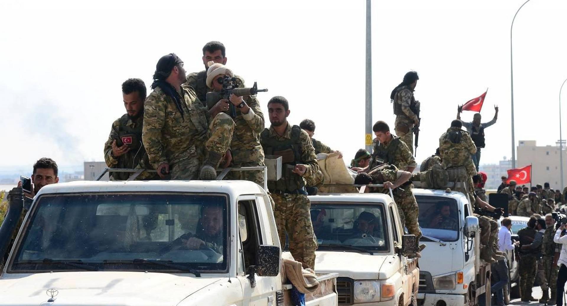 بيان برلماني أميركي أوروبي مشترك يدين الغزو التركي لشمال سوريا