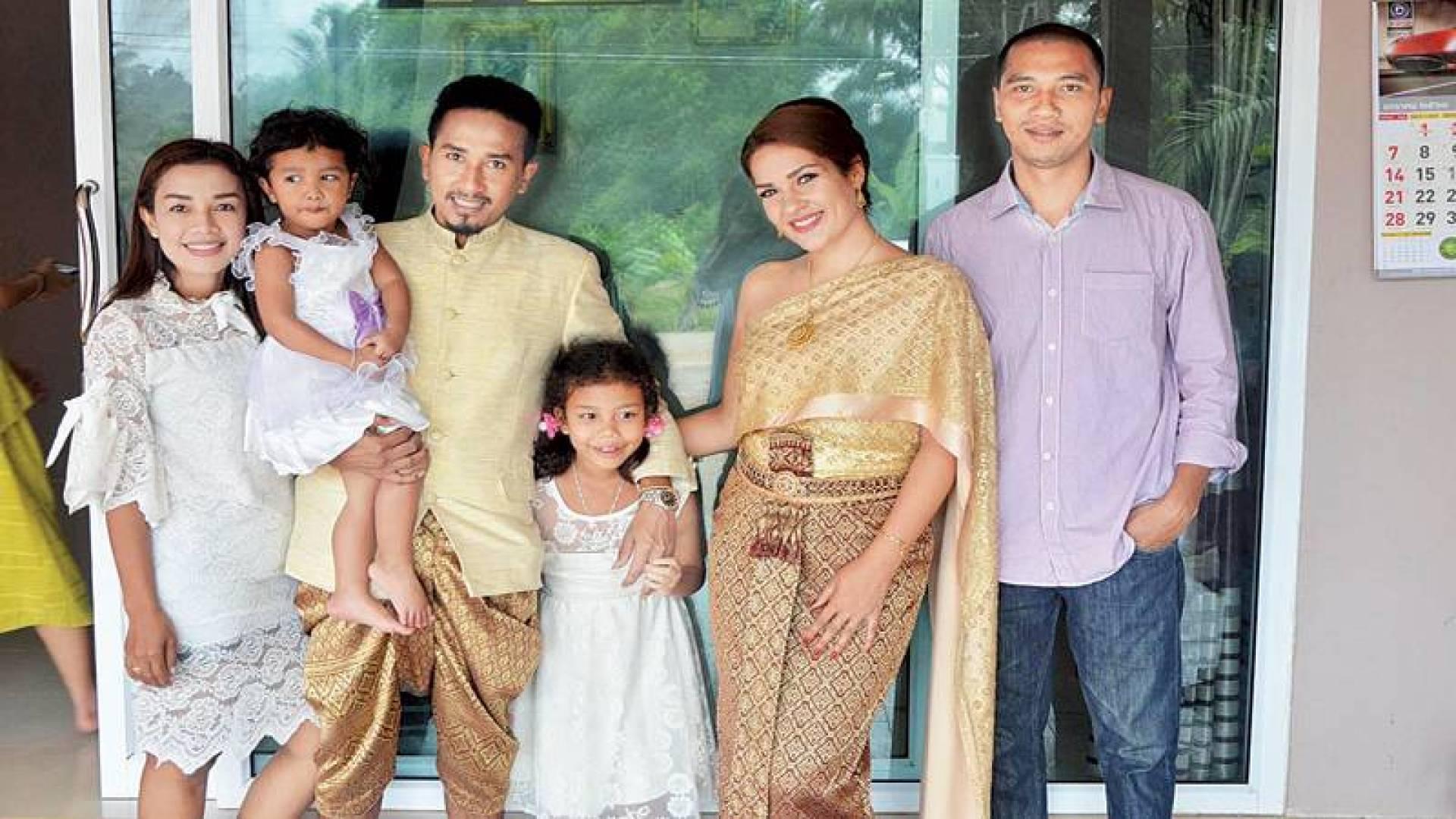 على طريقة ساق البامبو.. كويتية تتزوج تايلنديًا