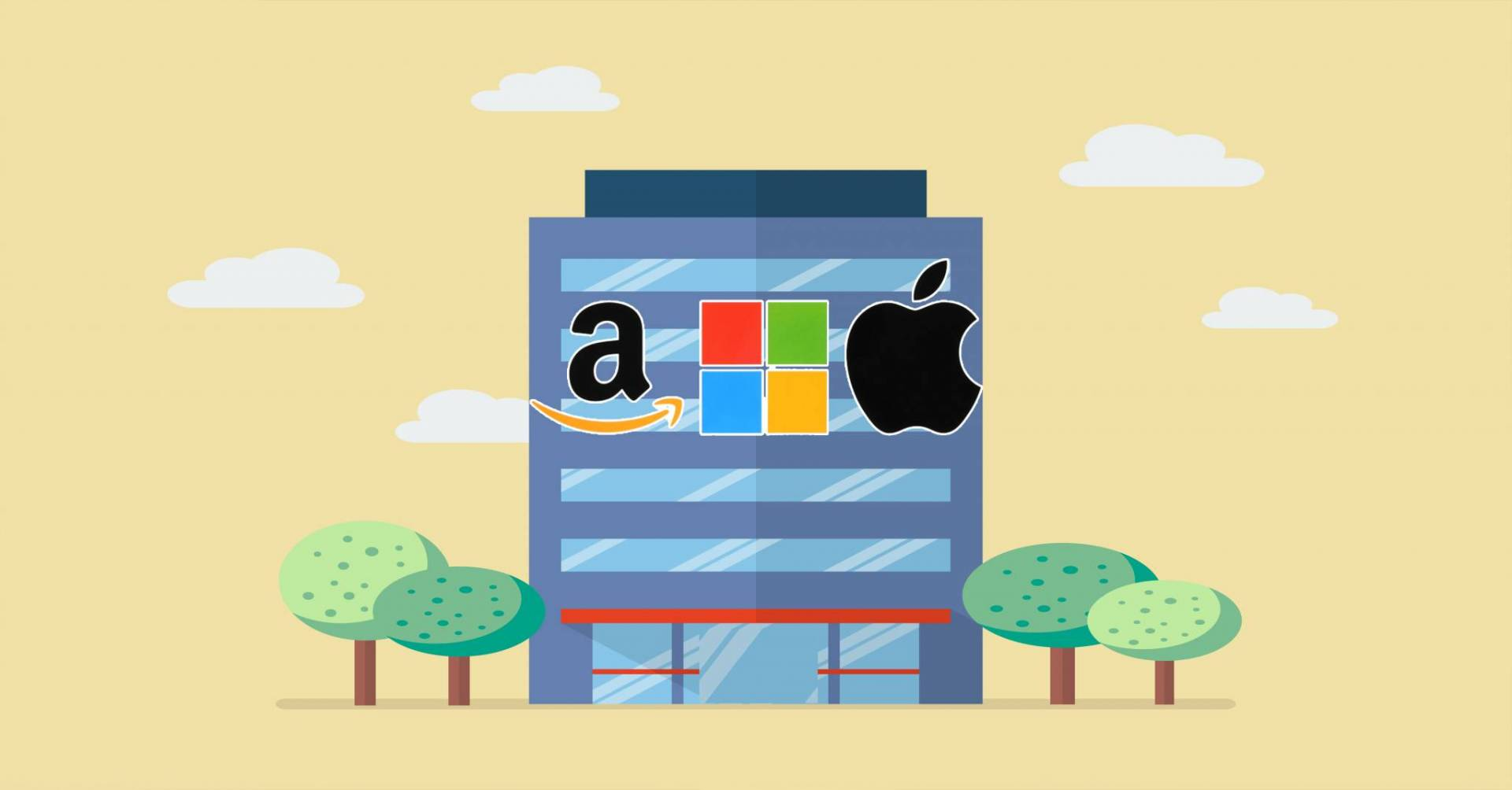 هل أبل وأمازون ومايكروسوفت أول شركات تريليونية؟.. التاريخ لا يقول ذلك