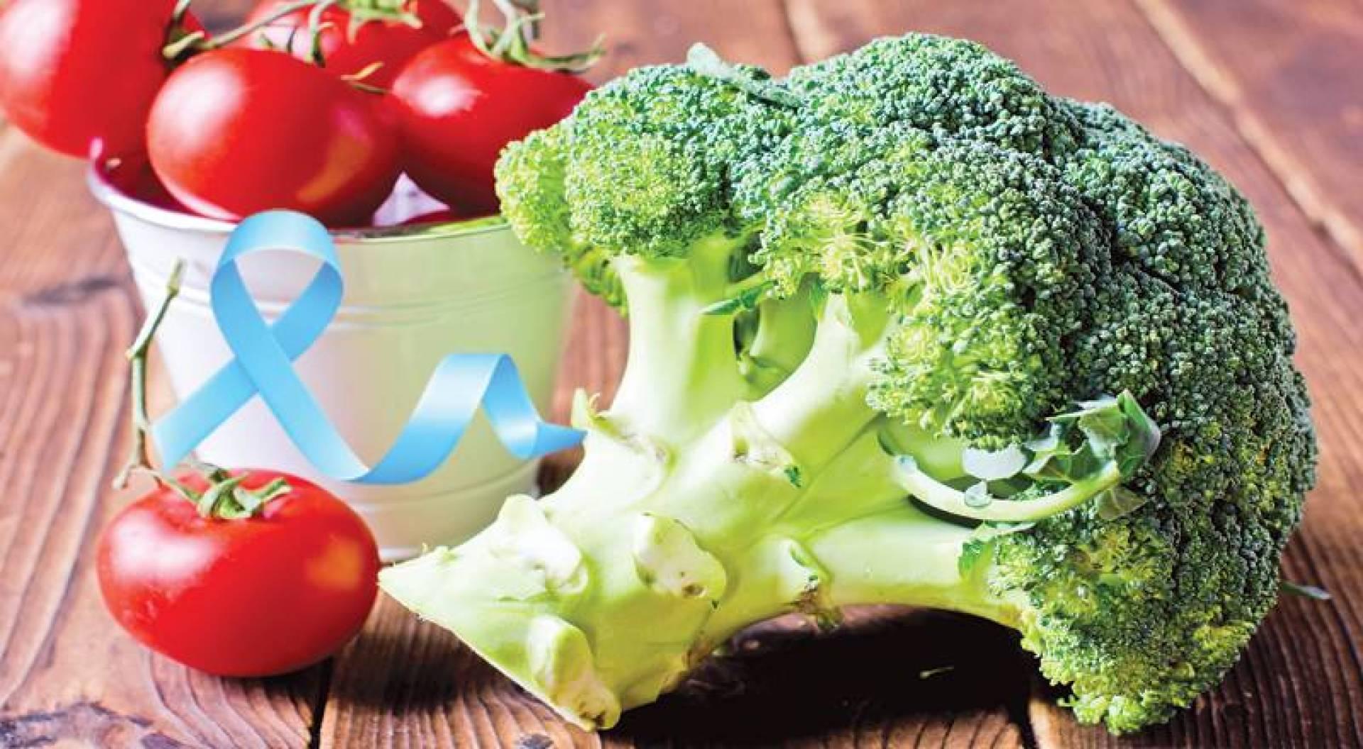 الطماطم والبروكلي.. لمحاربة سرطان البروستاتا