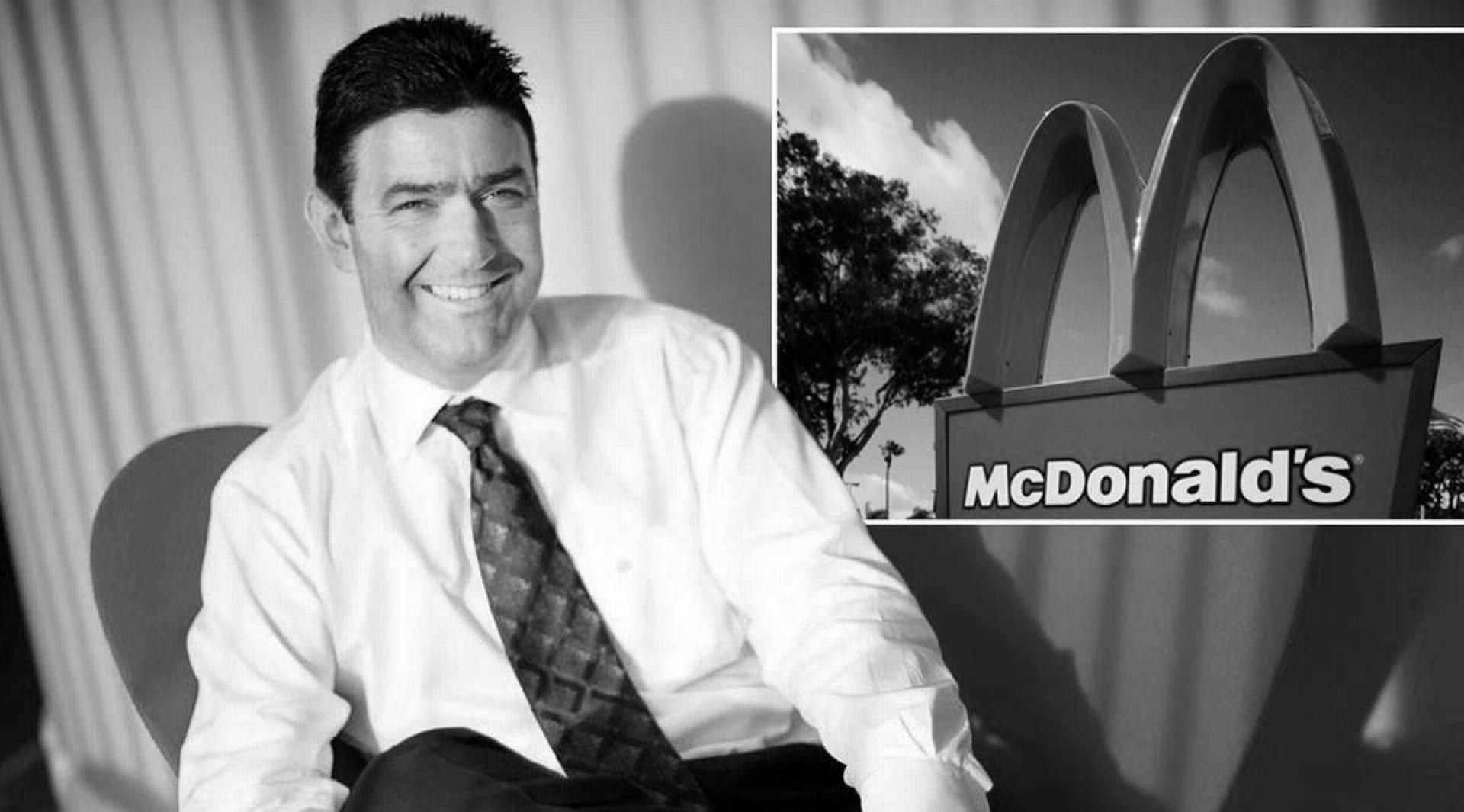 «ماكدونالدز» تجبر رئيسها التنفيذي على الاستقالة من منصبه