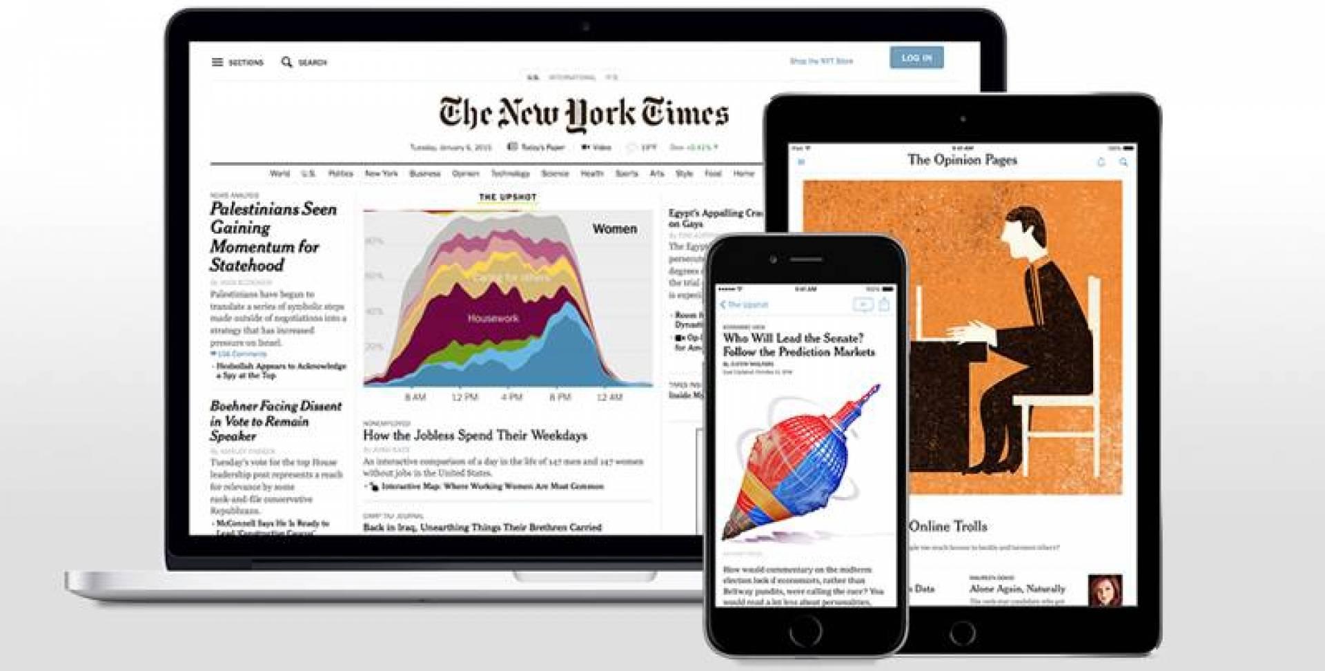 4 ملايين مشترك إلكتروني في «نيويورك تايمز»