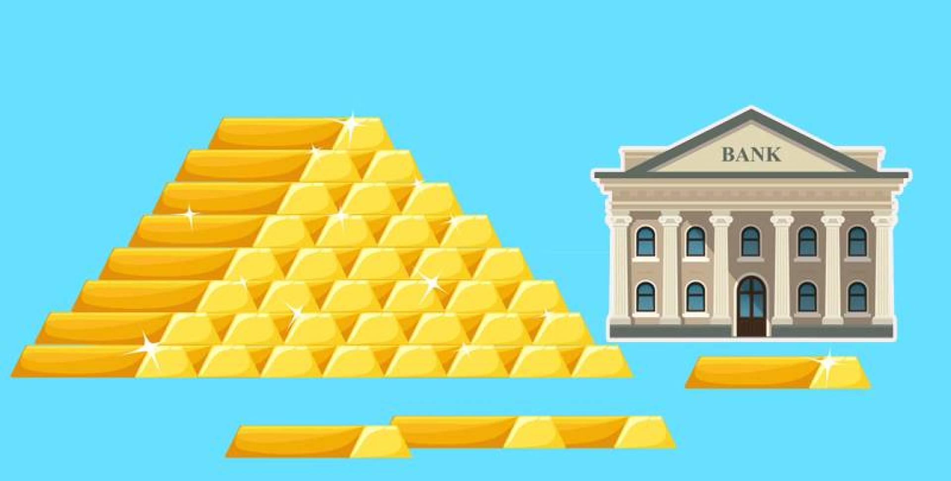 البنوك المركزية العالمية اشترت أكثر من 156 طناً من الذهب.. في 3 أشهر