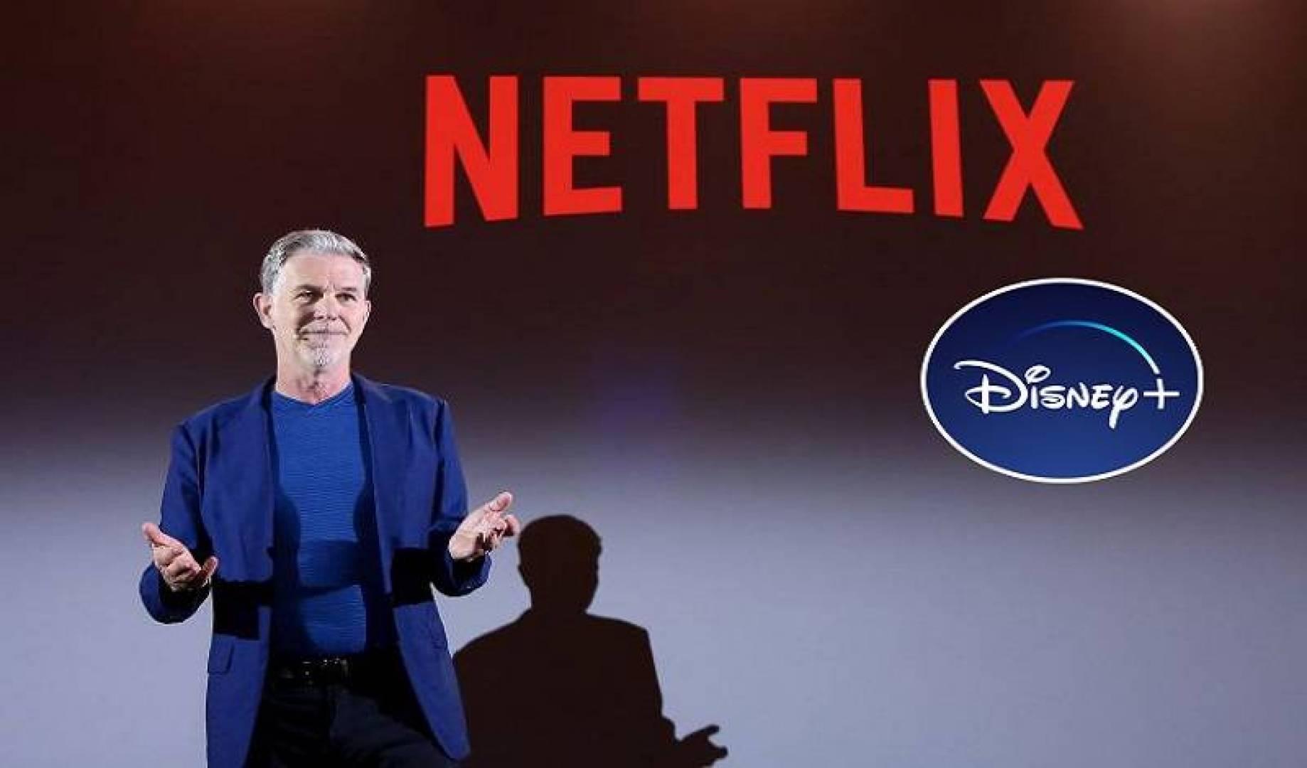 رئيس  «Netflix»: سأشترك في «+Disney» عند إطلاقها الأسبوع المقبل