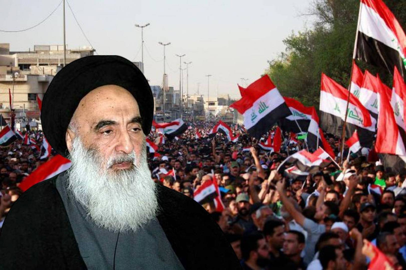 السيستاني: قوات الأمن العراقية تتحمل «المسؤولية الكبرى» عن سلمية الاحتجاجات