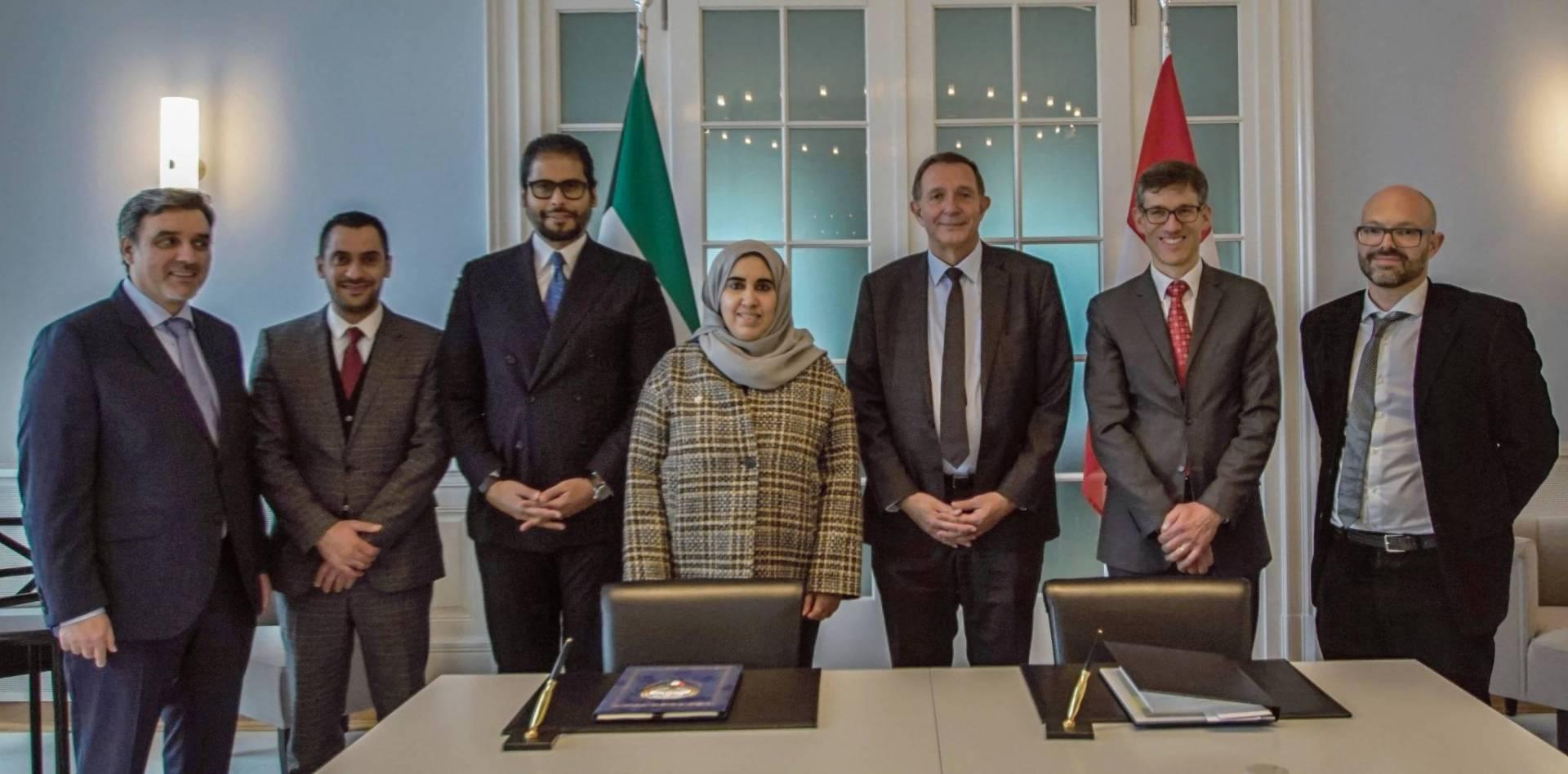 تعديل اتفاقية تجنب الازدواج الضريبي بين الكويت وسويسرا