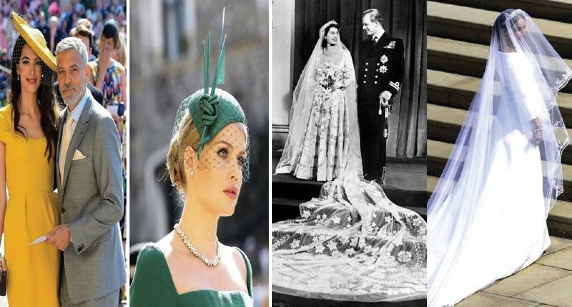 اللون الأبيض أساسي للفستان - لا يمكن للسيدات خلع قبعاتهن خلال الحفل