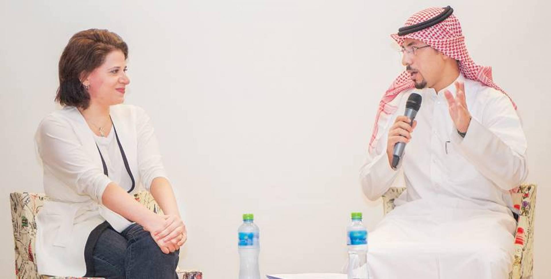 عبدالله العمودي وبثينة العيسى