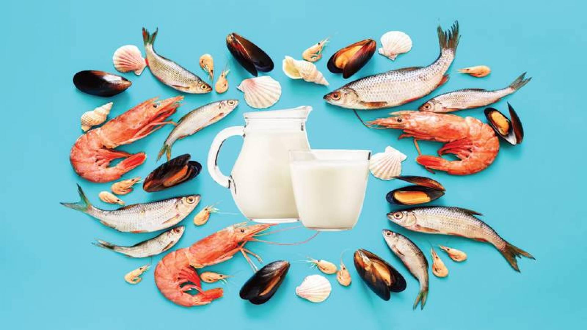 ماذا يحدث للجسم عند مقاطعة الألبان واللحوم والمأكولات البحرية؟